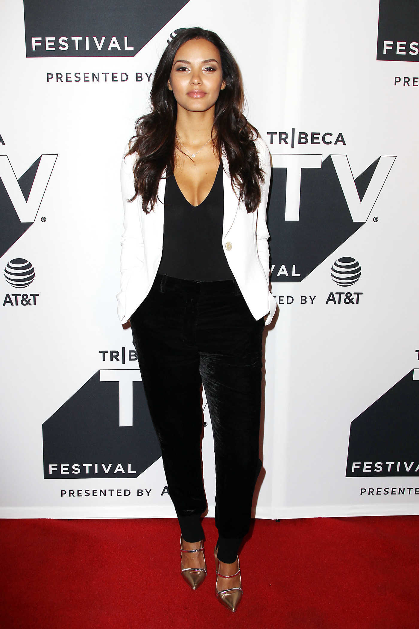 Jessica Lucas at the Gotham Sneak Peek During Tribeca TV Festival in NYC 09/23/2017