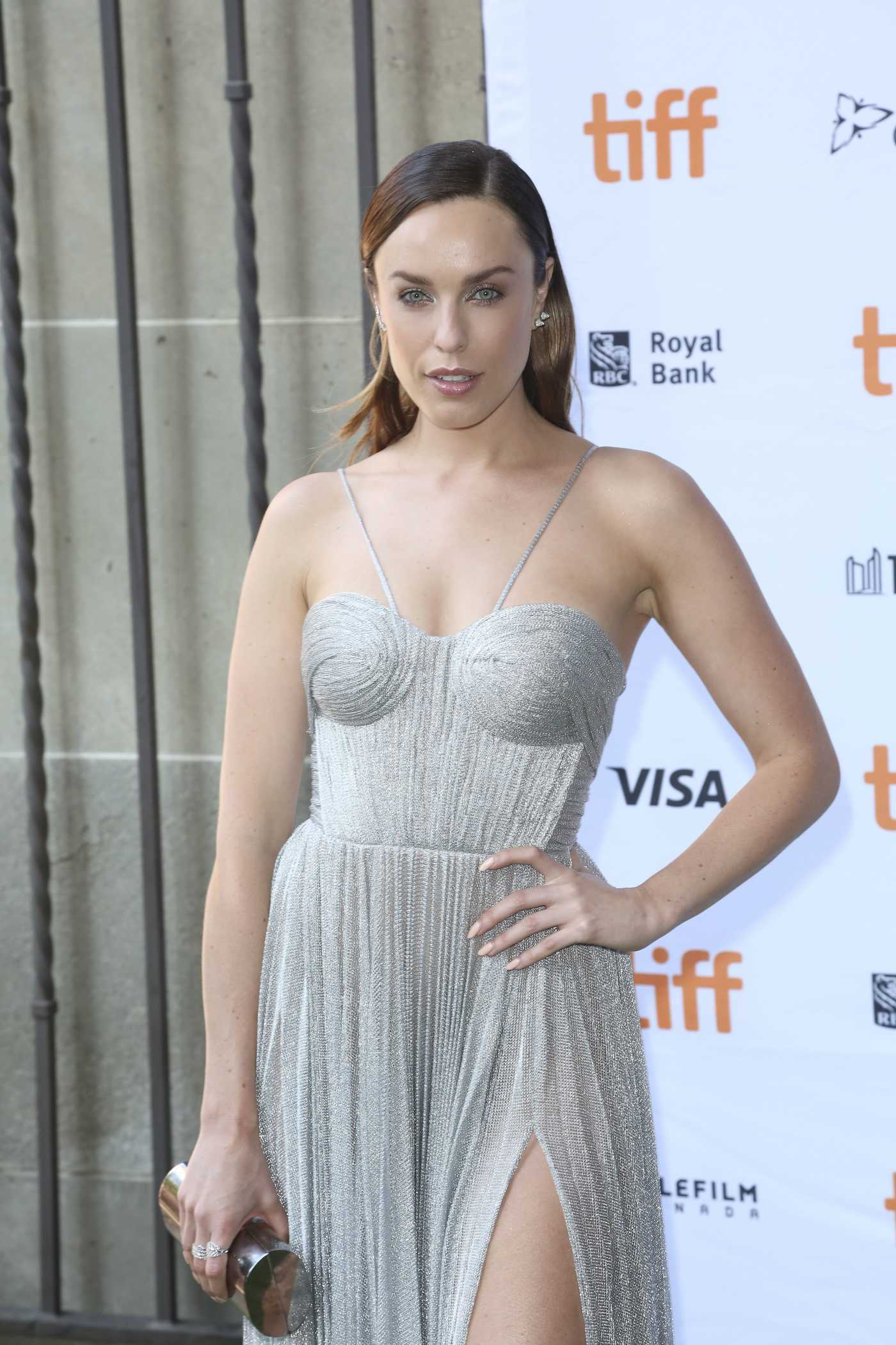 Jessica McNamee at the Battle of The Sexes Premiere During the 42nd Toronto International Film Festival 09/10/2017