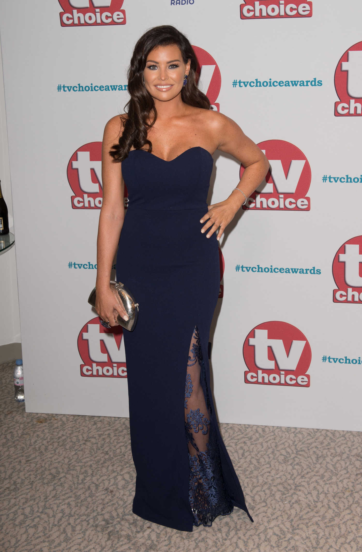 Jessica Wright at TV Choice Awards at The Dorchester in London 09/04/2017