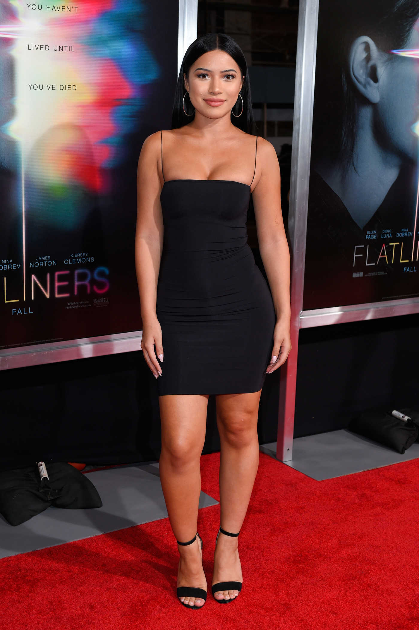 Julia Kelly at the Flatliners Premiere in Los Angeles 09/27/2017