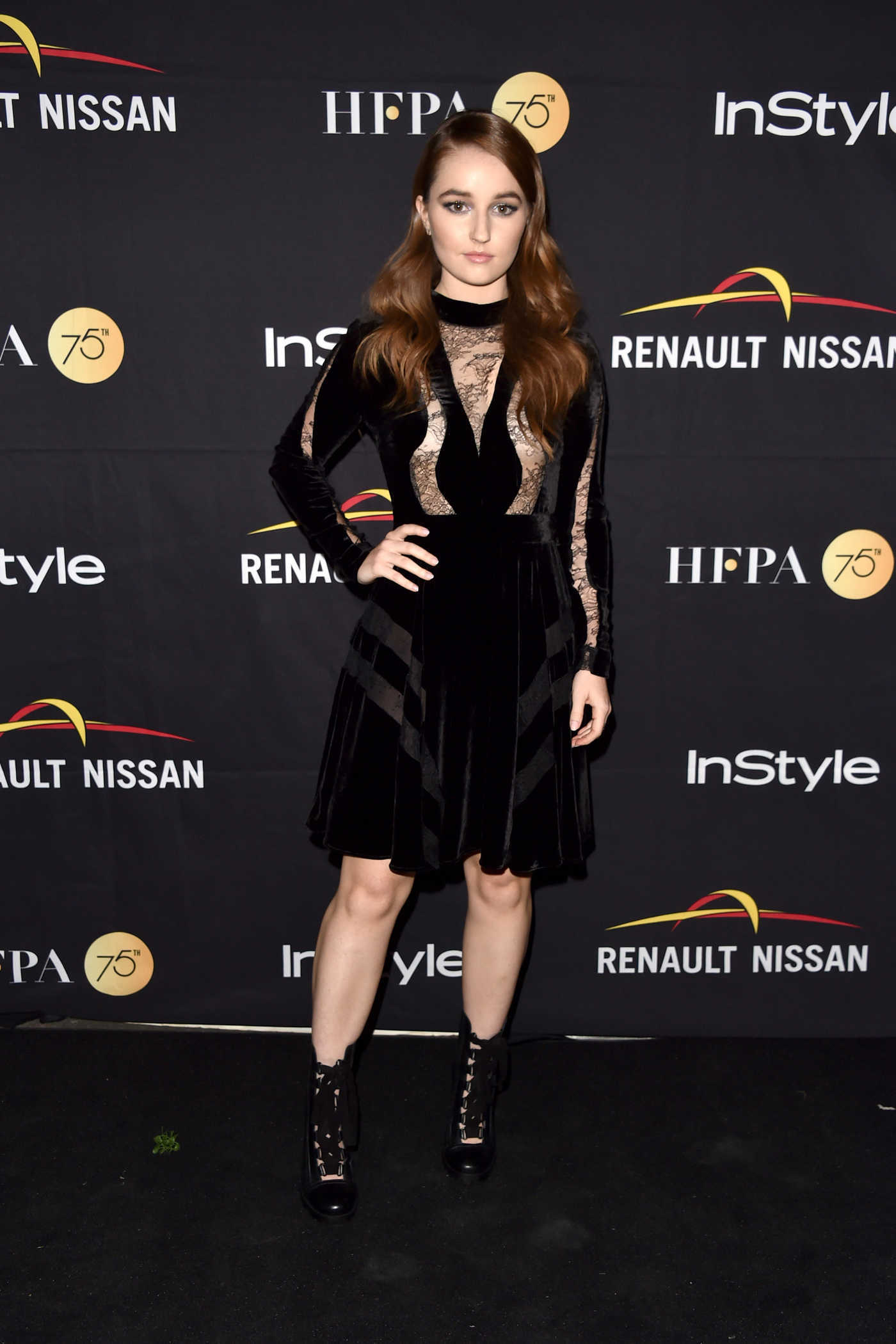 Kaitlyn Dever at HFPA and InStyle Annual Celebration During Toronto International Film Festival 09/09/2017