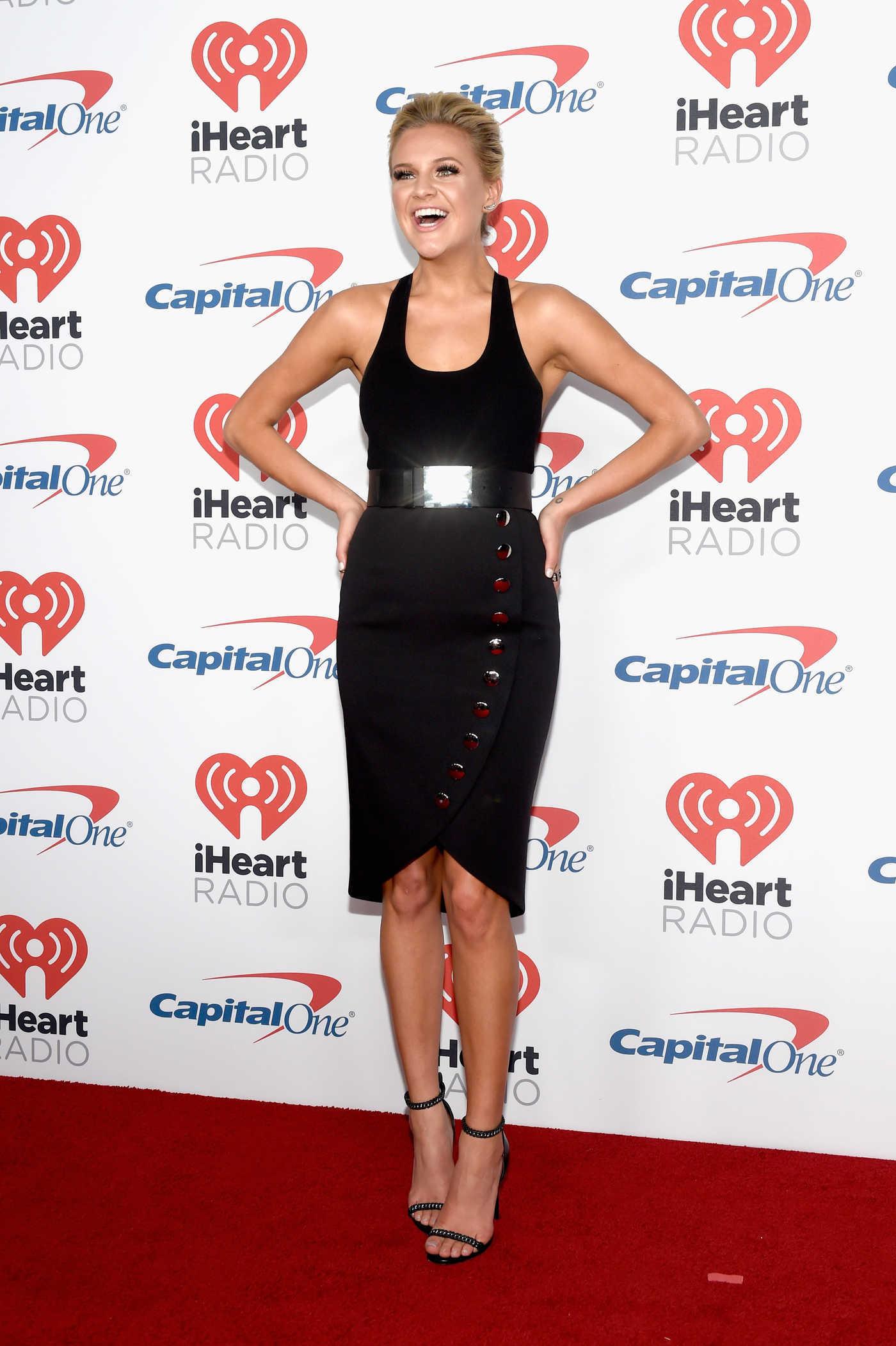 Kelsea Ballerini at iHeart Radio Festival in Las Vegas 09/22/2017