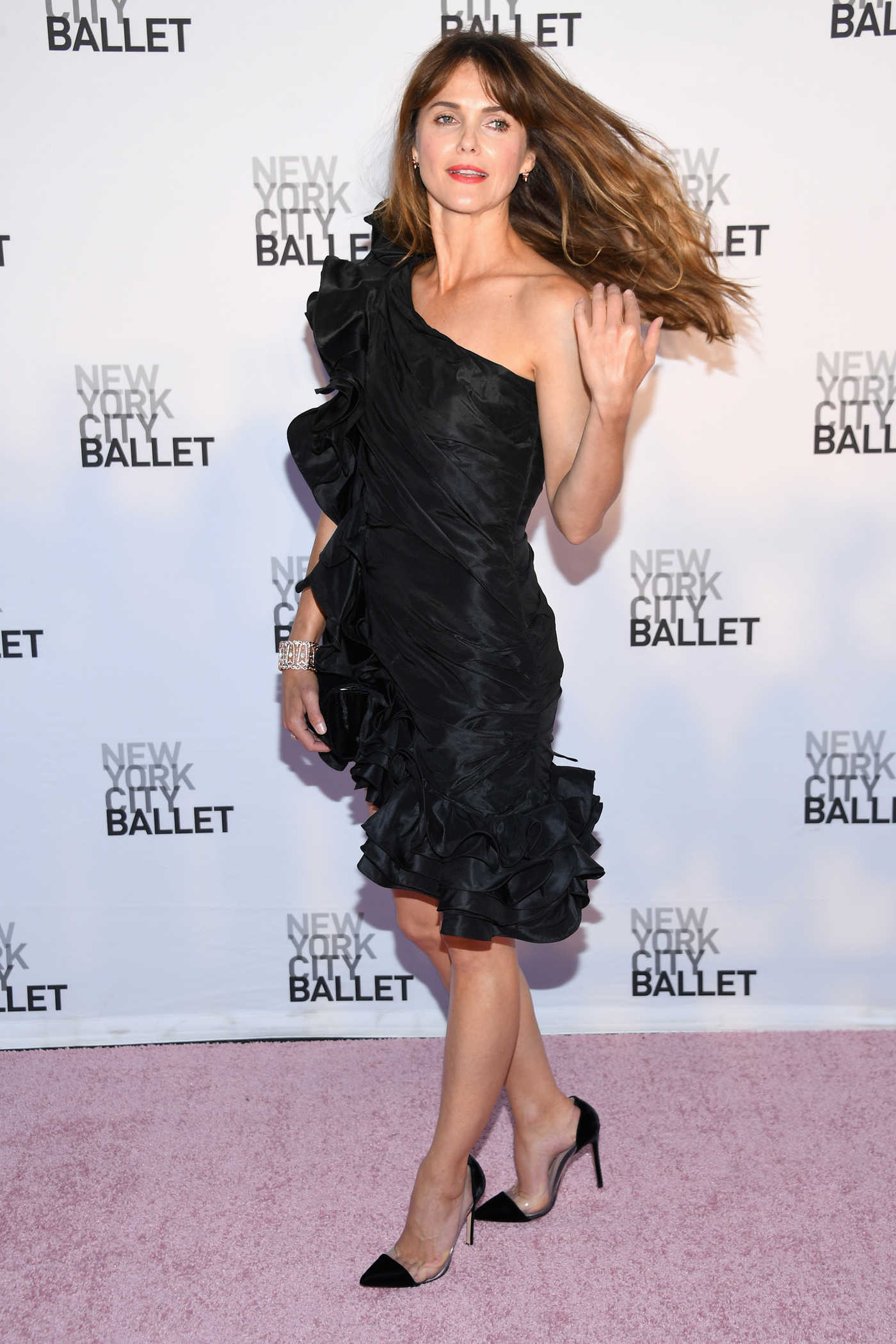 Keri Russell at New York City Ballet's 2017 Fall Fashion Gala in New York 09/28/2017