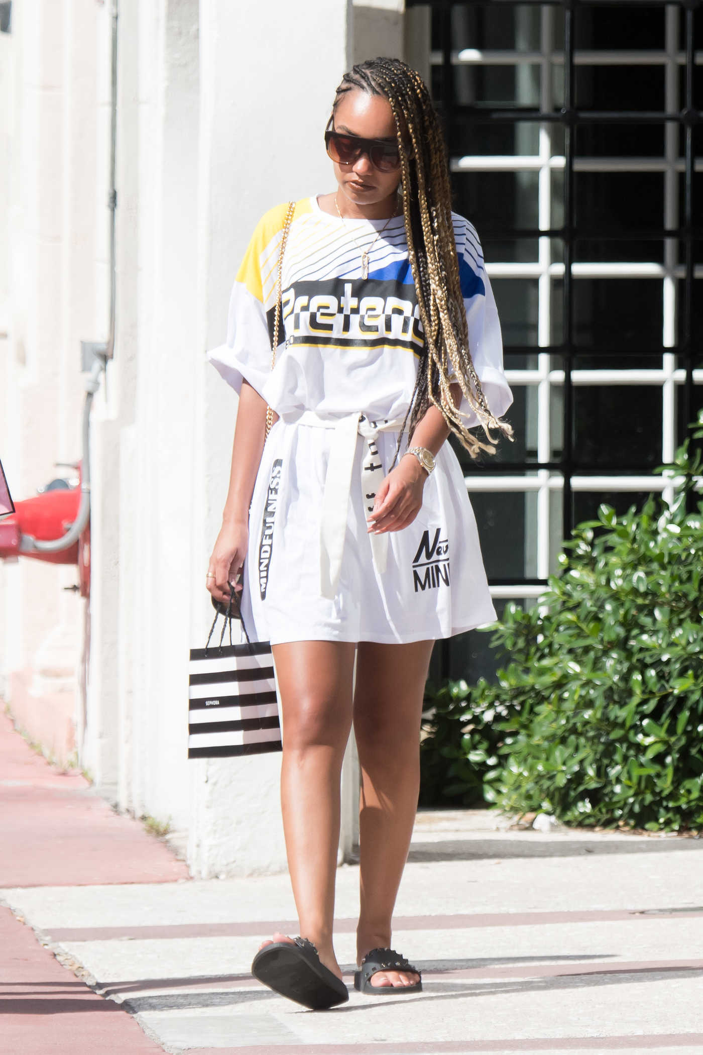 Leigh-Anne Pinnock Was Seen Out in Miami 09/05/2017