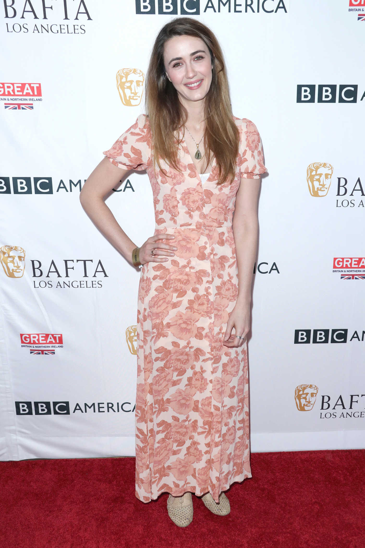 Madeline Zima at BAFTA Tea Party in Los Angeles 09/16/2017
