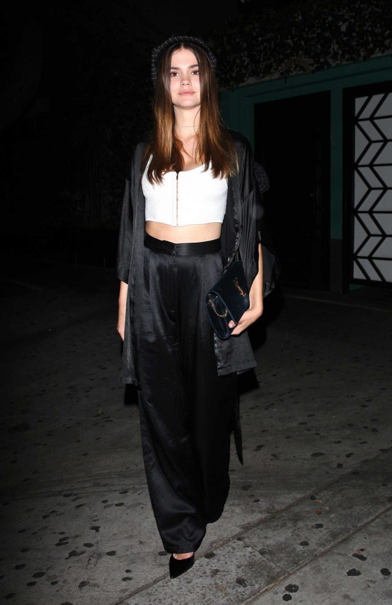 Maia Mitchell Leaves Peppermint Night Club in West Hollywood 09/12/2017-1