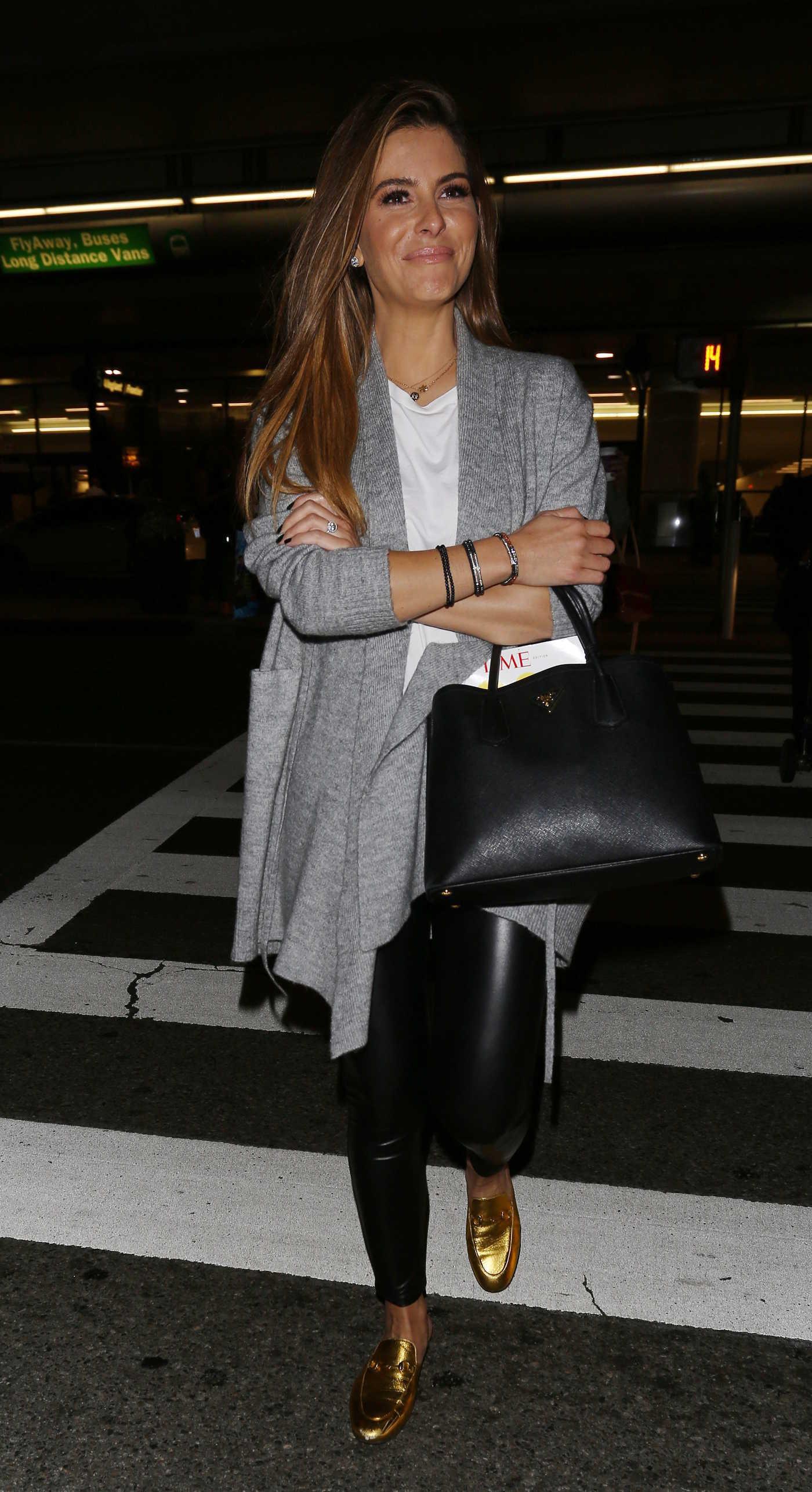 Maria Menounos at LAX Airport in Los Angeles 09/27/2017