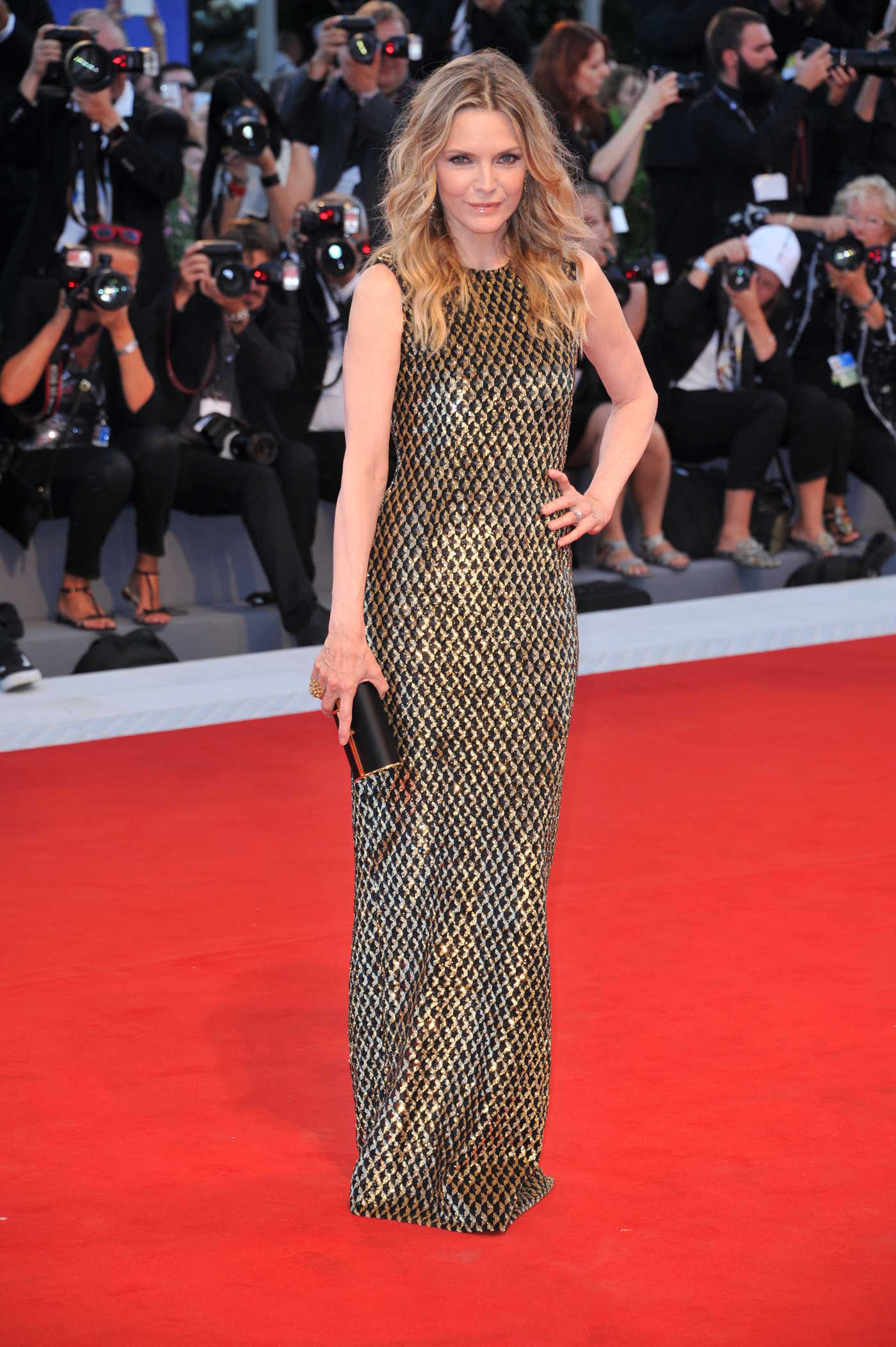 Michelle Pfeiffer at Mother Premiere During the 74th Venice International Film Festival in Italy 09/05/2017
