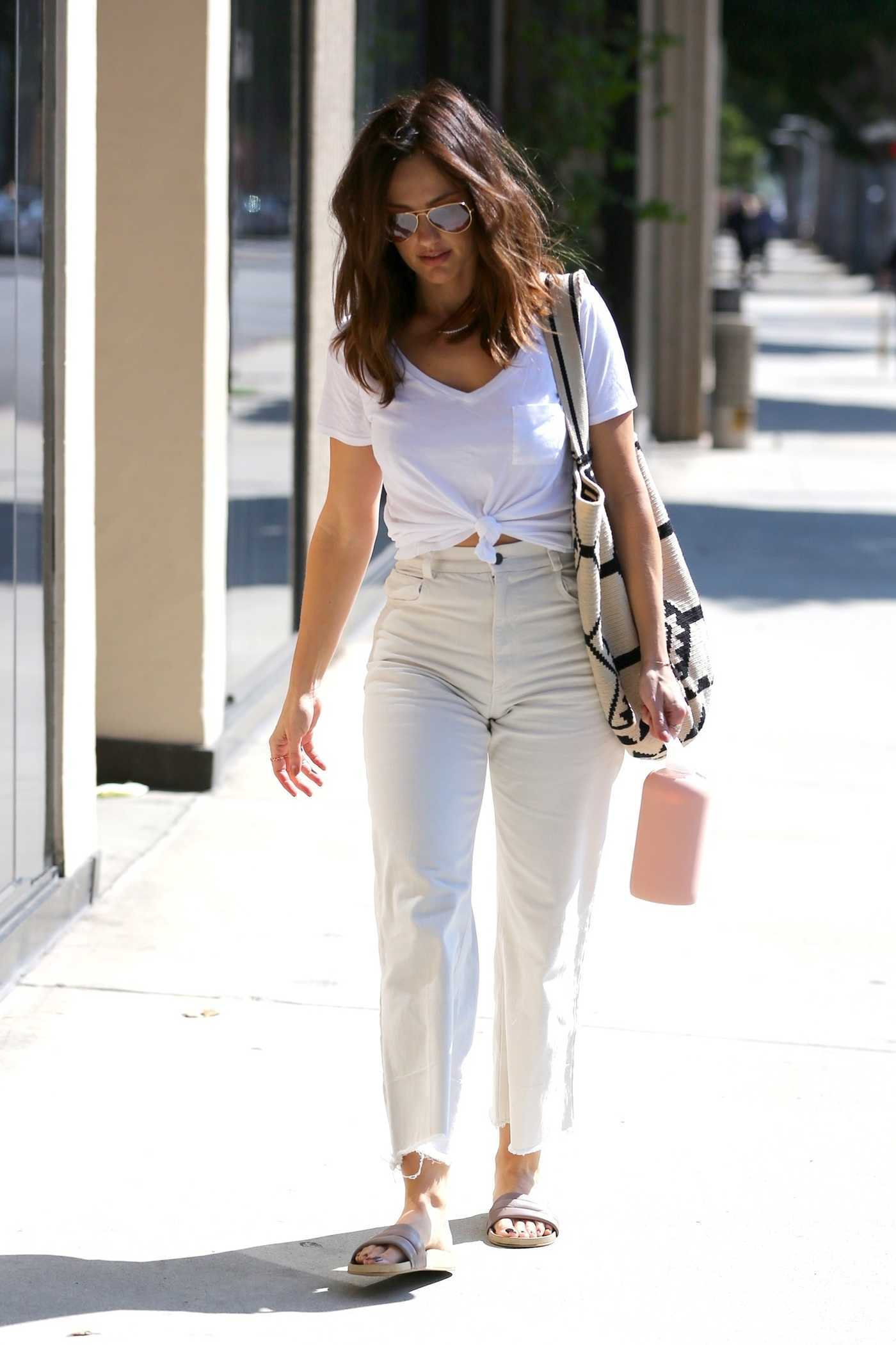 Minka Kelly Was Seen Out in LA 09/18/2017