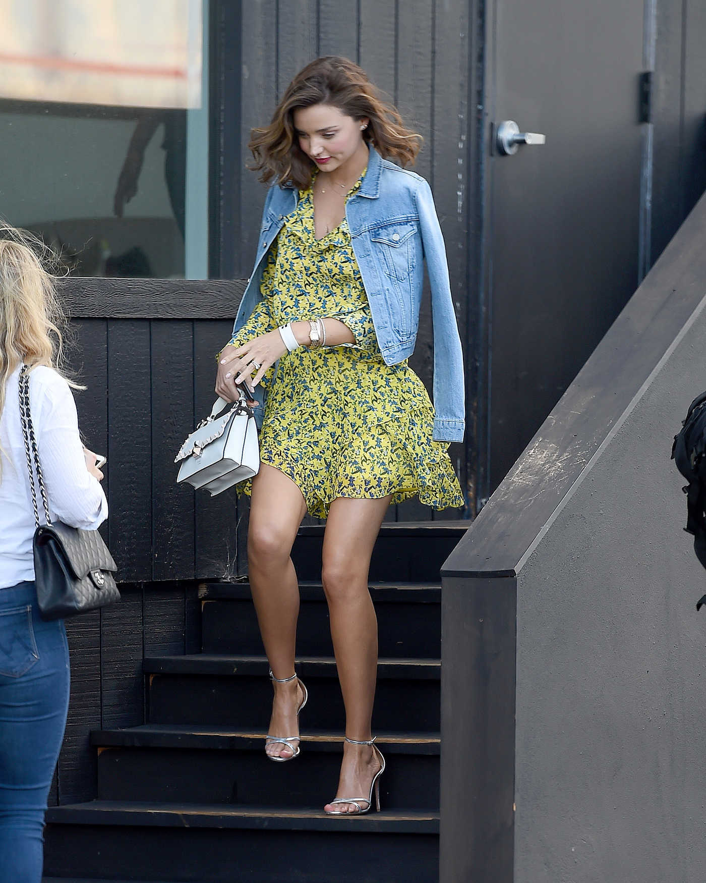 Miranda Kerr at the 34St Heliport in New York City 09/15/2017