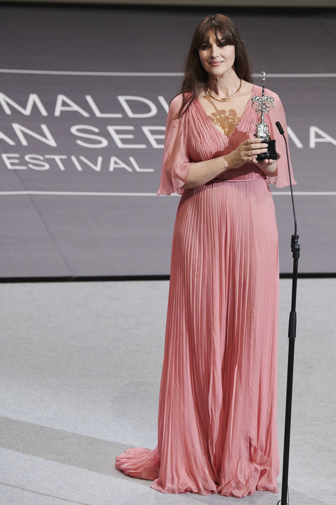 Monica Bellucci at Donostia Award During the 65th San Sebastian Film Festival 09/27/2017