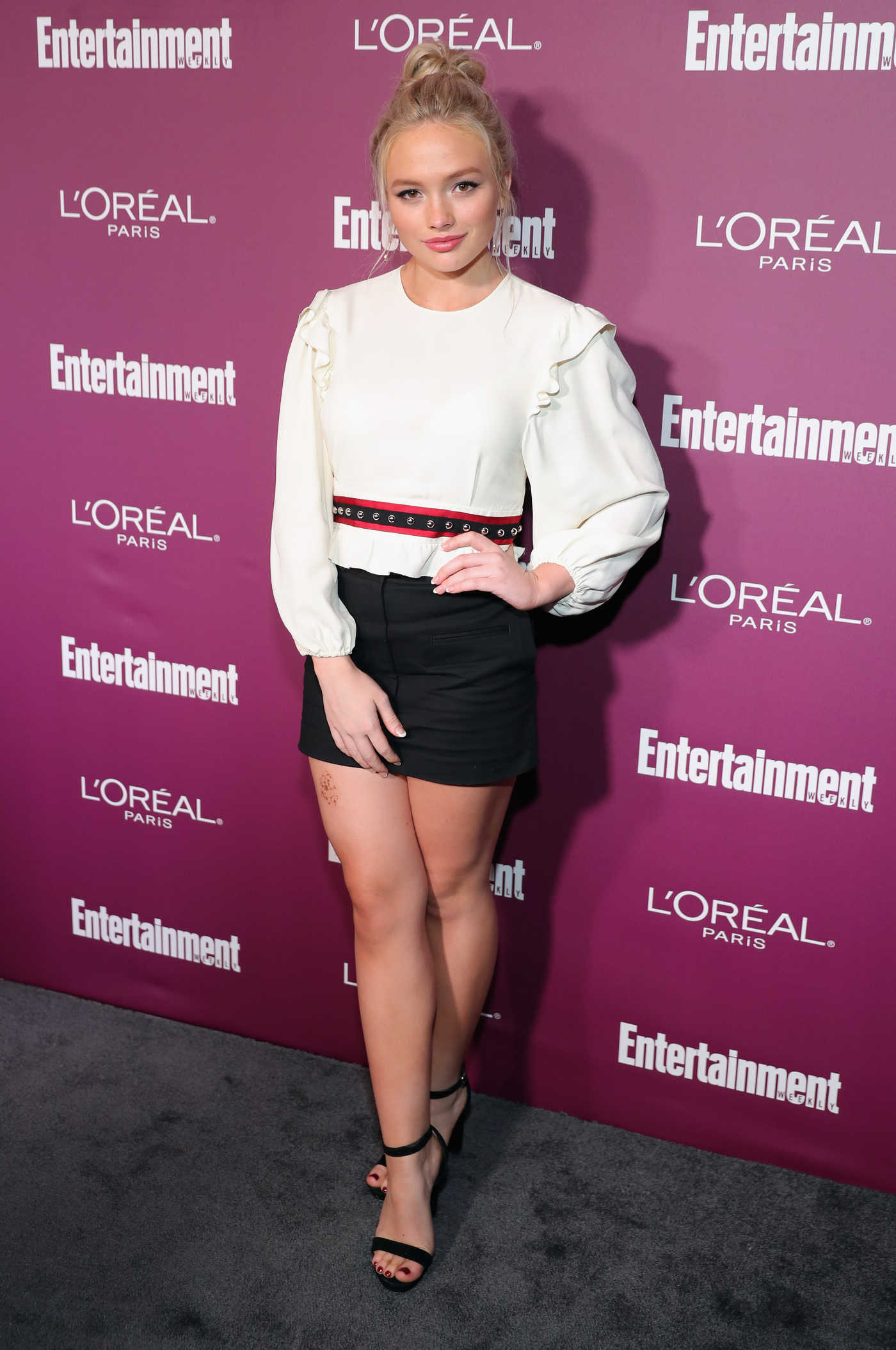 Natalie Alyn Lind at the 2017 Entertainment Weekly Pre-Emmy Party in West Hollywood 09/15/2017
