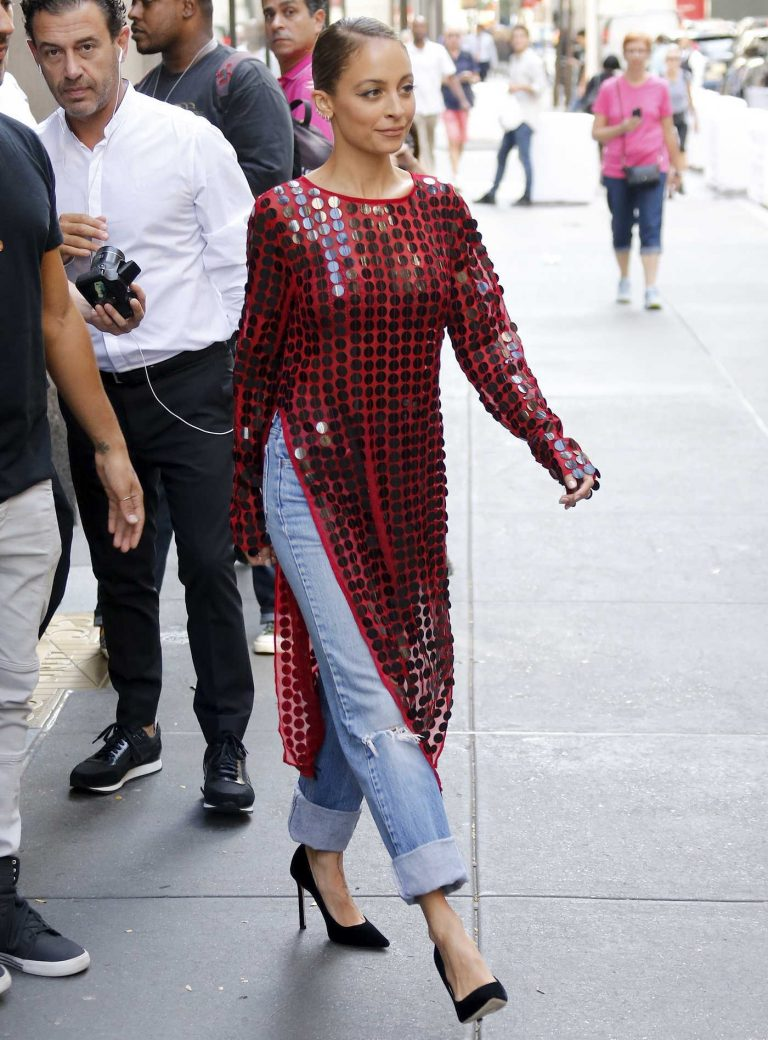 Nicole Richie Arrives at Today TV Show in New York 09/27/2017-1