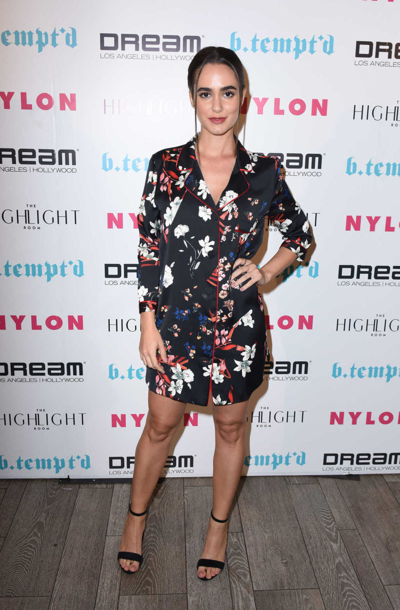 Alicia Sanz at the Nylon Nights it Girl Issue Party in Los Angeles 10/12/2017