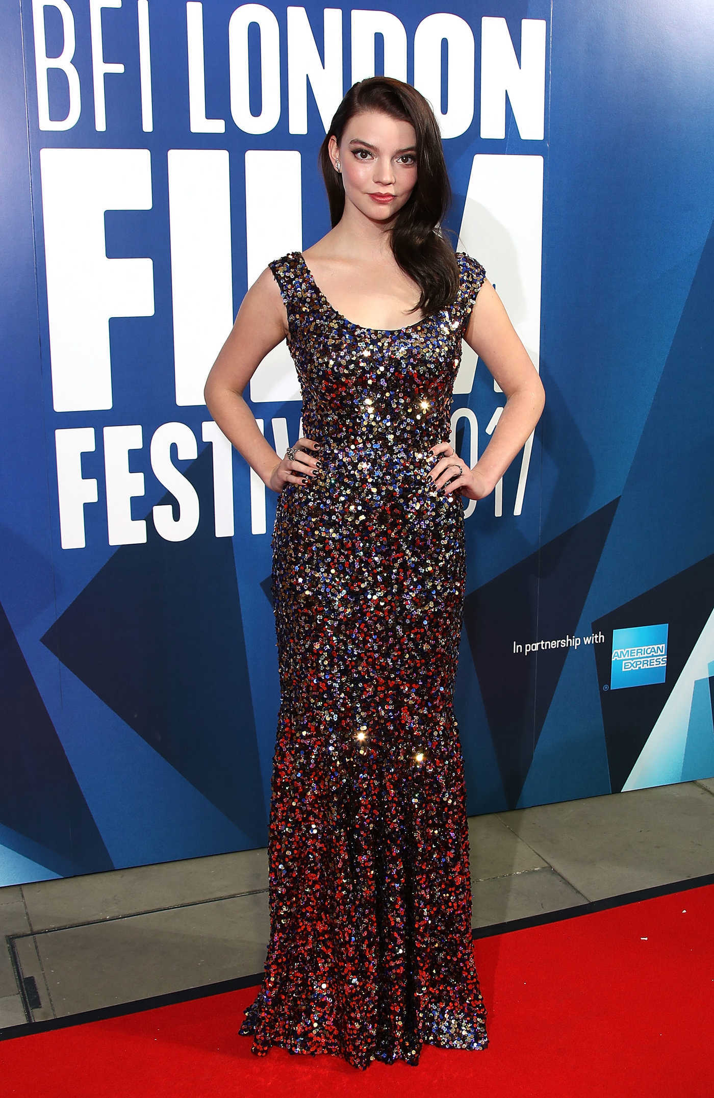 Anya Taylor-Joy at the 61st BFI London Film Festival Awards 10/14/2017
