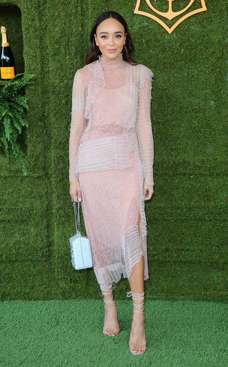 Ashley Madekwe at the Veuve Cliquot Polo Classic in LA 10/14/2017-1