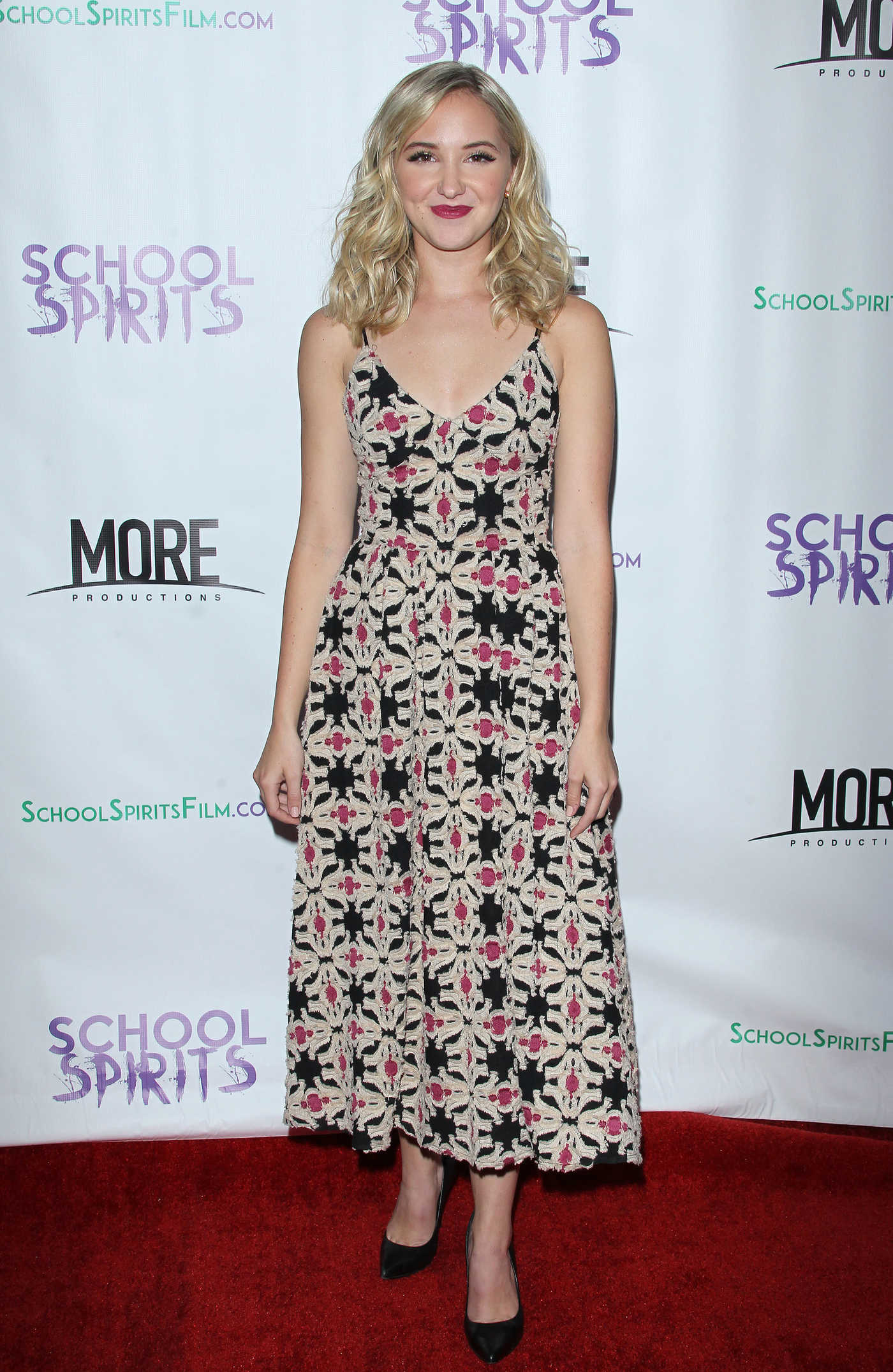 Audrey Whitby at the School Spirits Premiere in Los Angeles 10/06/2017
