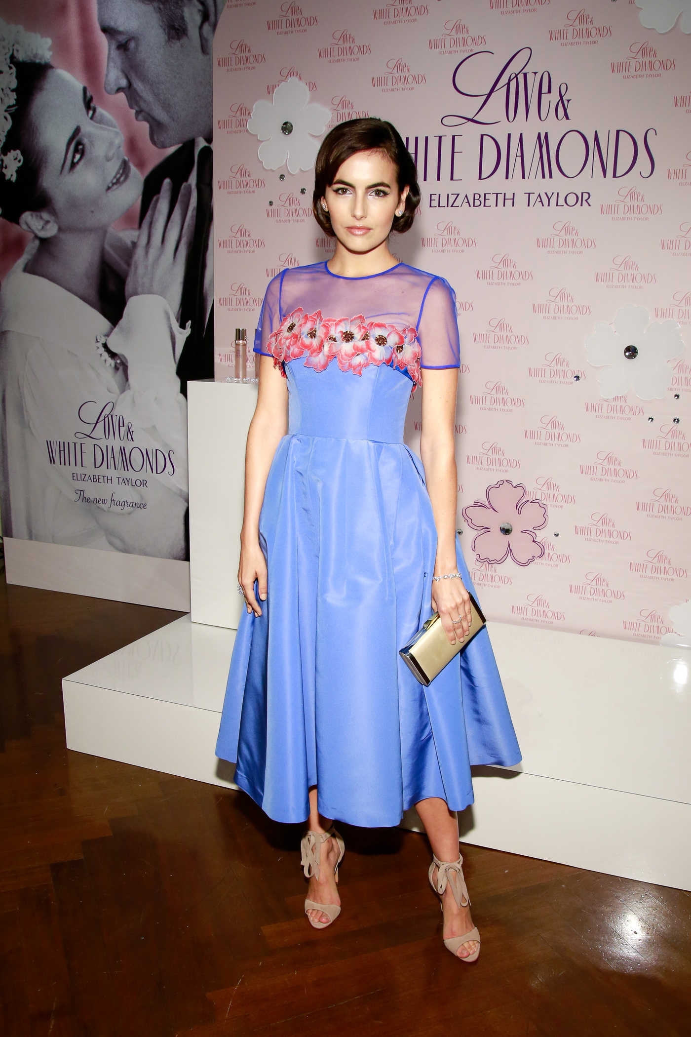 Camilla Belle Launches Love and White Diamonds Fragrance in NYC 10/17/2017