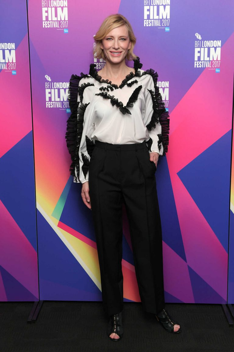 Cate Blanchett at the LFF Connects Photocall During the 61st BFI London Film Festival in London 10/06/2017-1