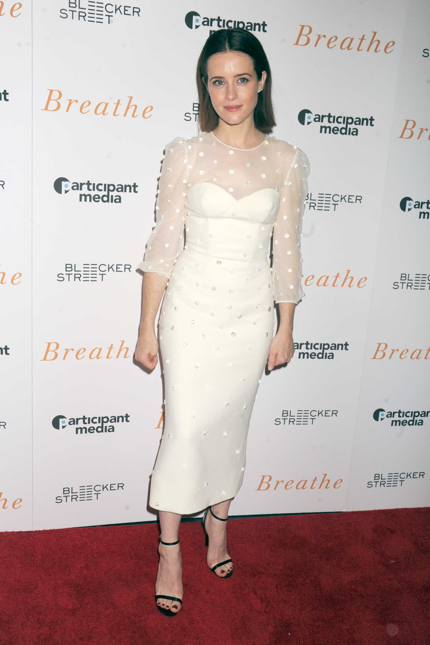 Claire Foy at the Breathe Screening in New York 10/09/2017