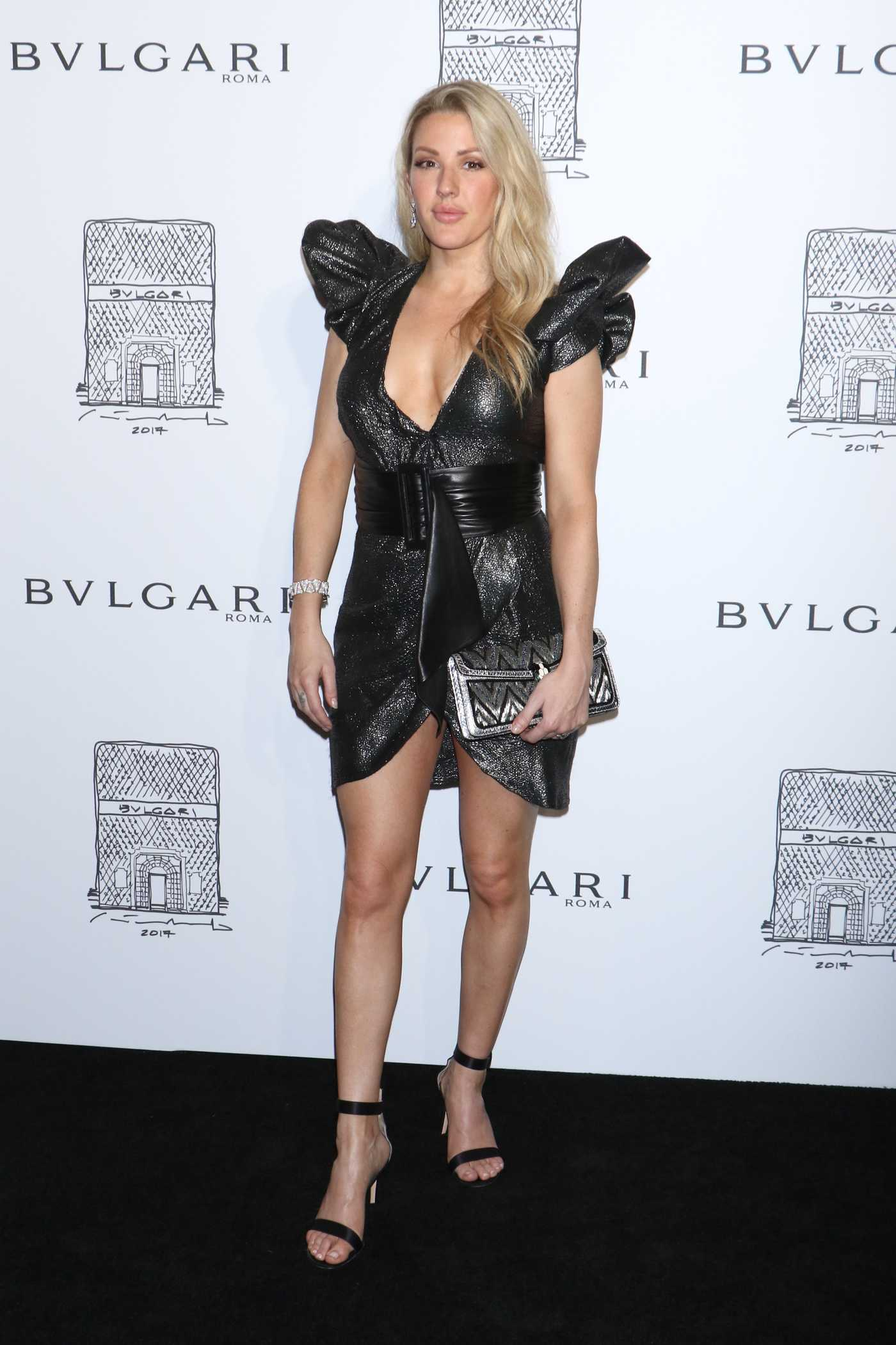 Ellie Goulding at the Bulgari Flagship Store Opening Celebration in New York 10/20/2017