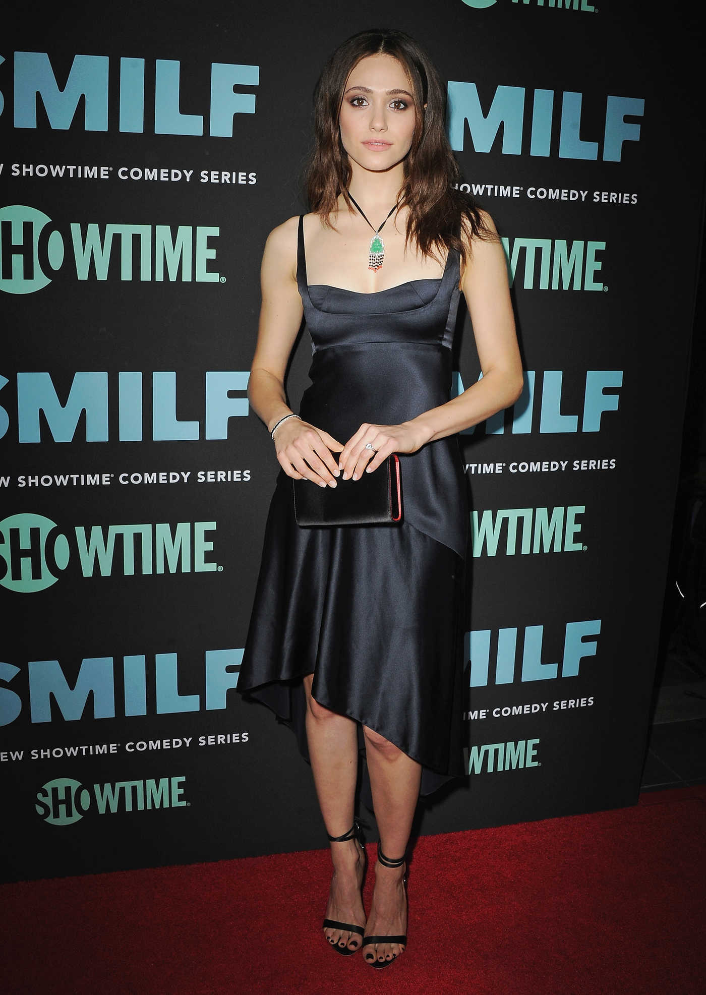 Emmy Rossum at the SMILF Premiere in Los Angeles 10/09/2017
