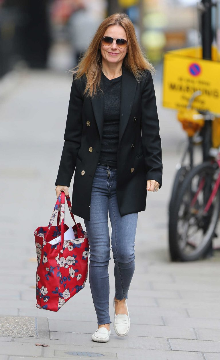 Geri Halliwell Was Seen Out in London 10/03/2017-1