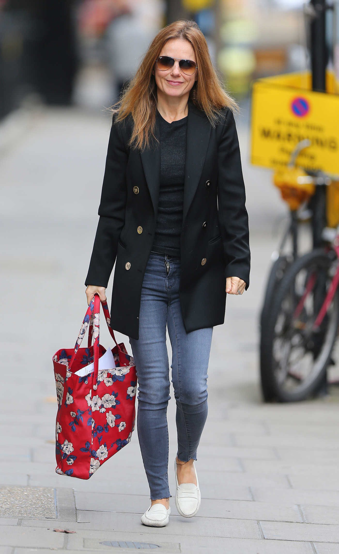 Geri Halliwell Was Seen Out in London 10/03/2017