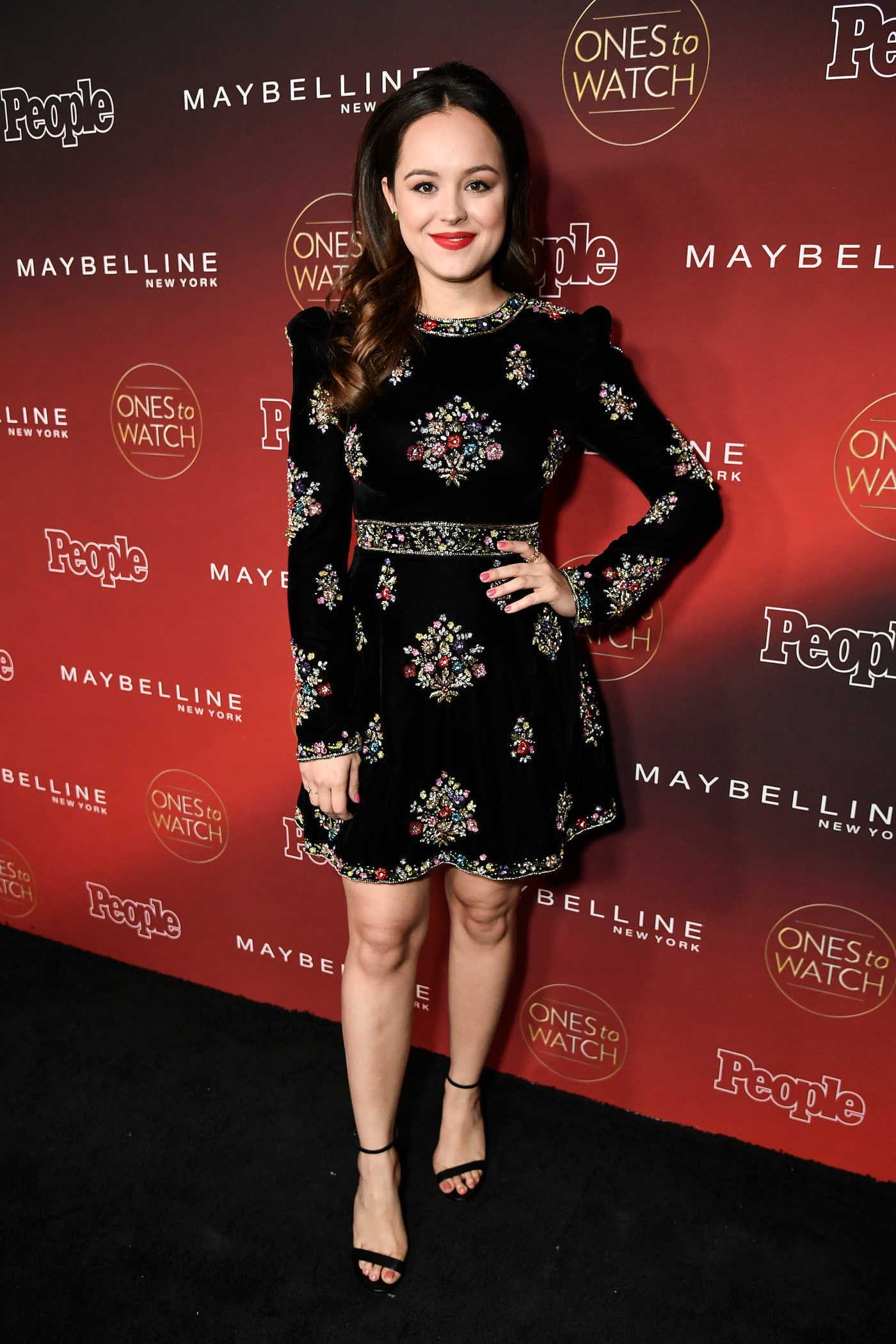 Hayley Orrantia at the PEOPLE's Ones to Watch Party in Los Angeles 10/04/2017