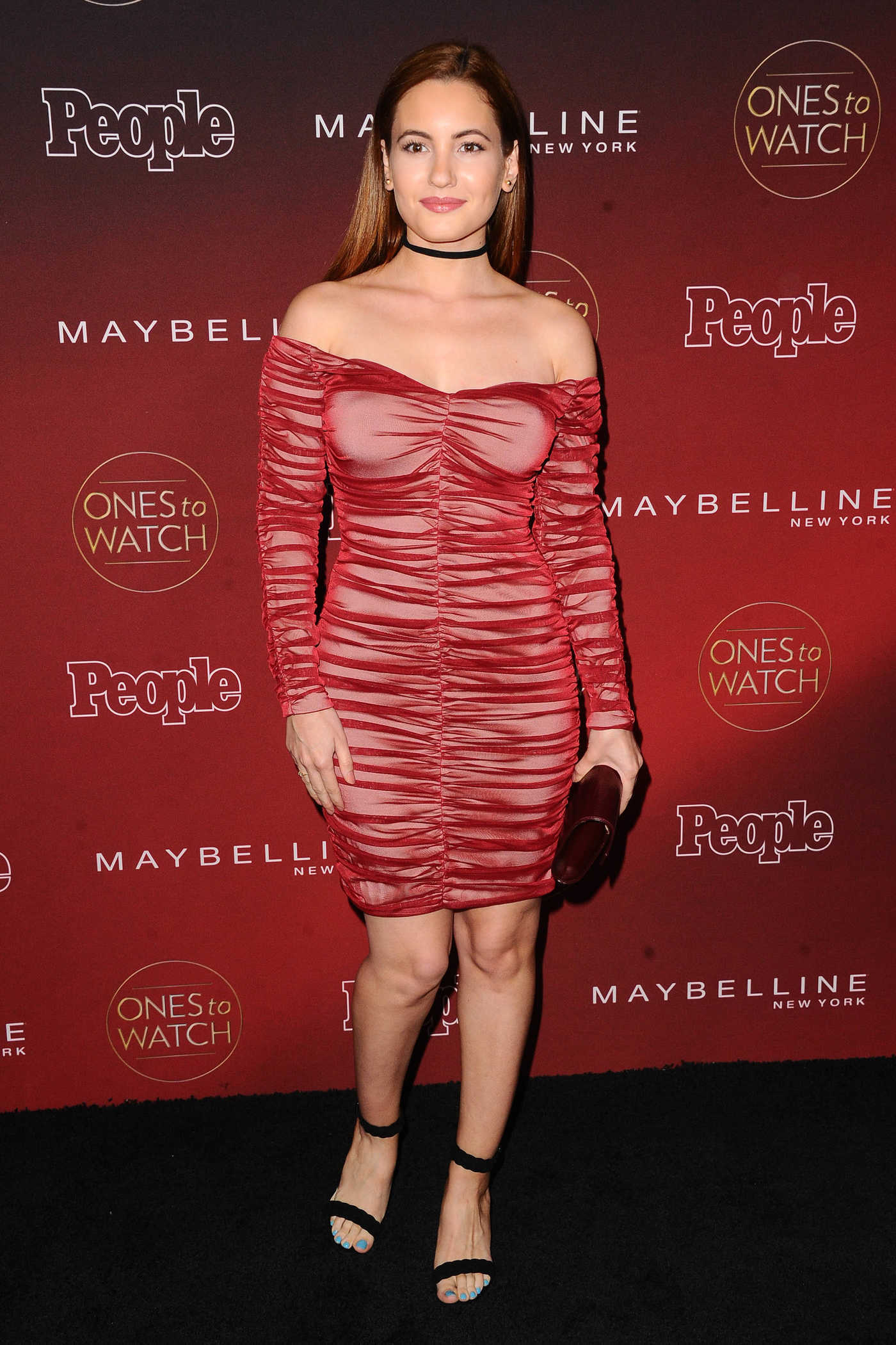 Ivana Baquero at the PEOPLE's Ones to Watch Party in Los Angeles 10/04/2017