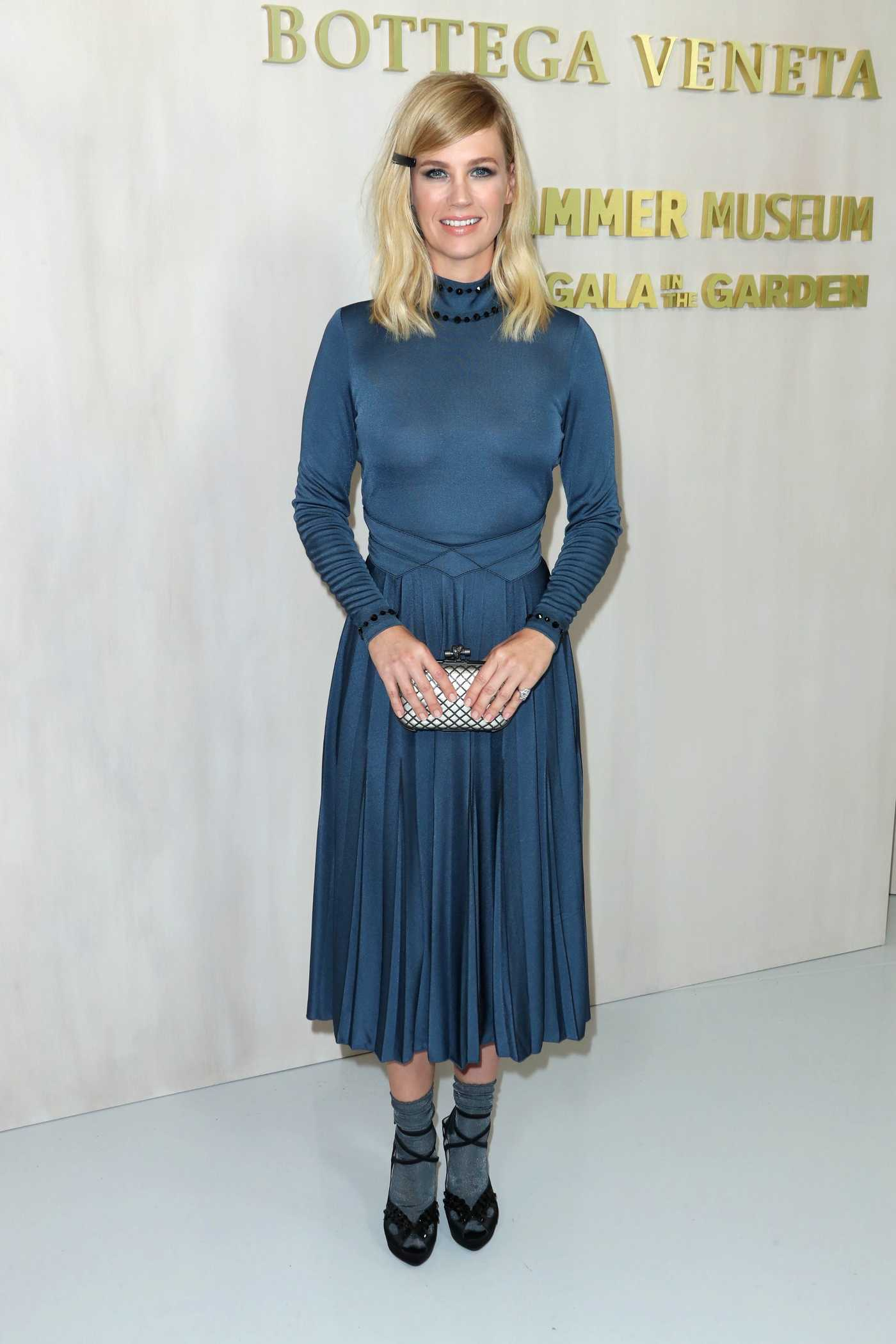January Jones at the Hammer Museum's 15th Annual Gala in the Garden in Los Angeles 10/14/2017