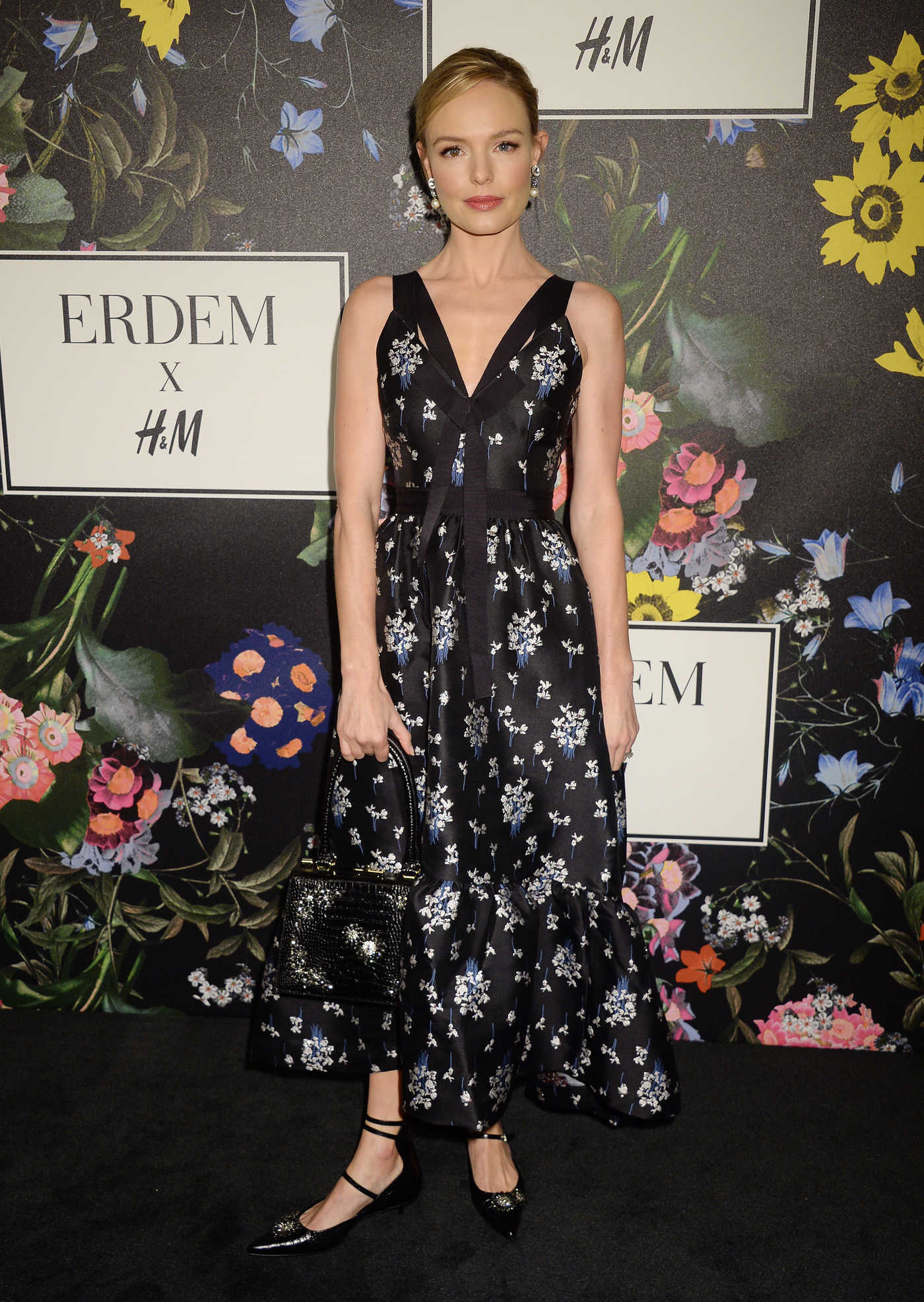Kate Bosworth at Erdem x H&M Launch Event in Los Angeles 10/18/2017