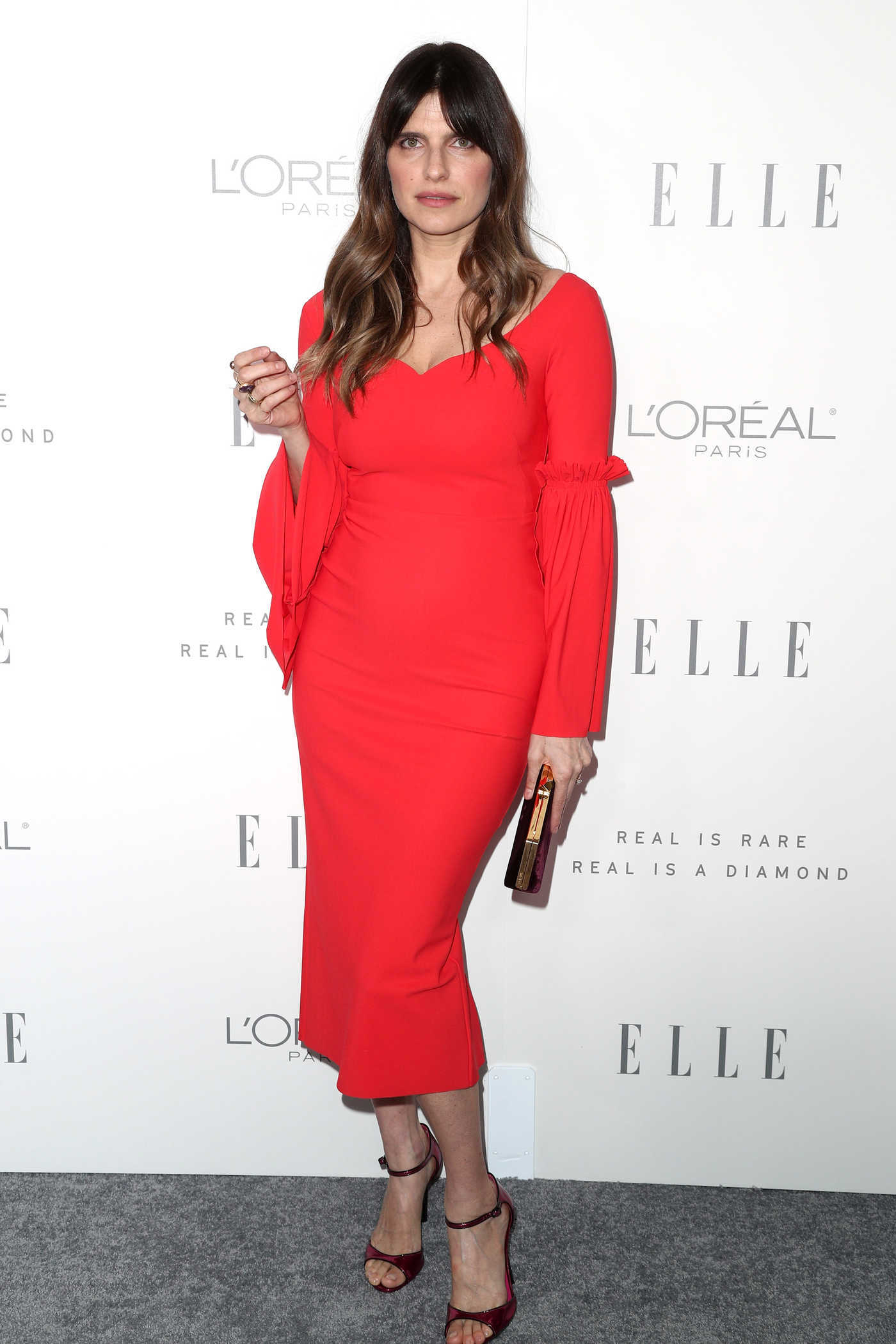 Lake Bell at ELLE's 24th Annual Women in Hollywood Celebration in Los Angeles 10/16/2017