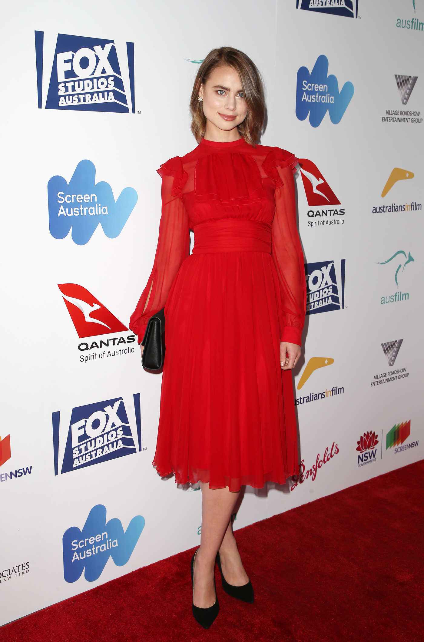 Lucy Fry at the 6th Annual Australians in Film Award and Benefit Dinner at Neuehouse in Hollywood 10/19/2017