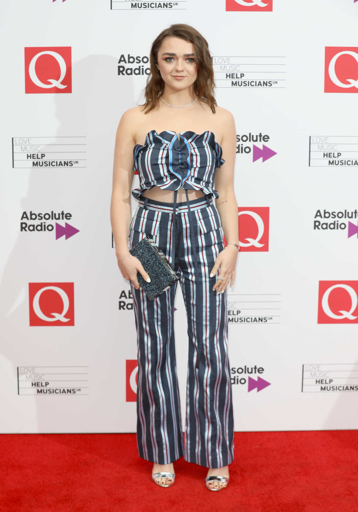 Maisie Williams at 2017 Q Awards in London 10/18/2017