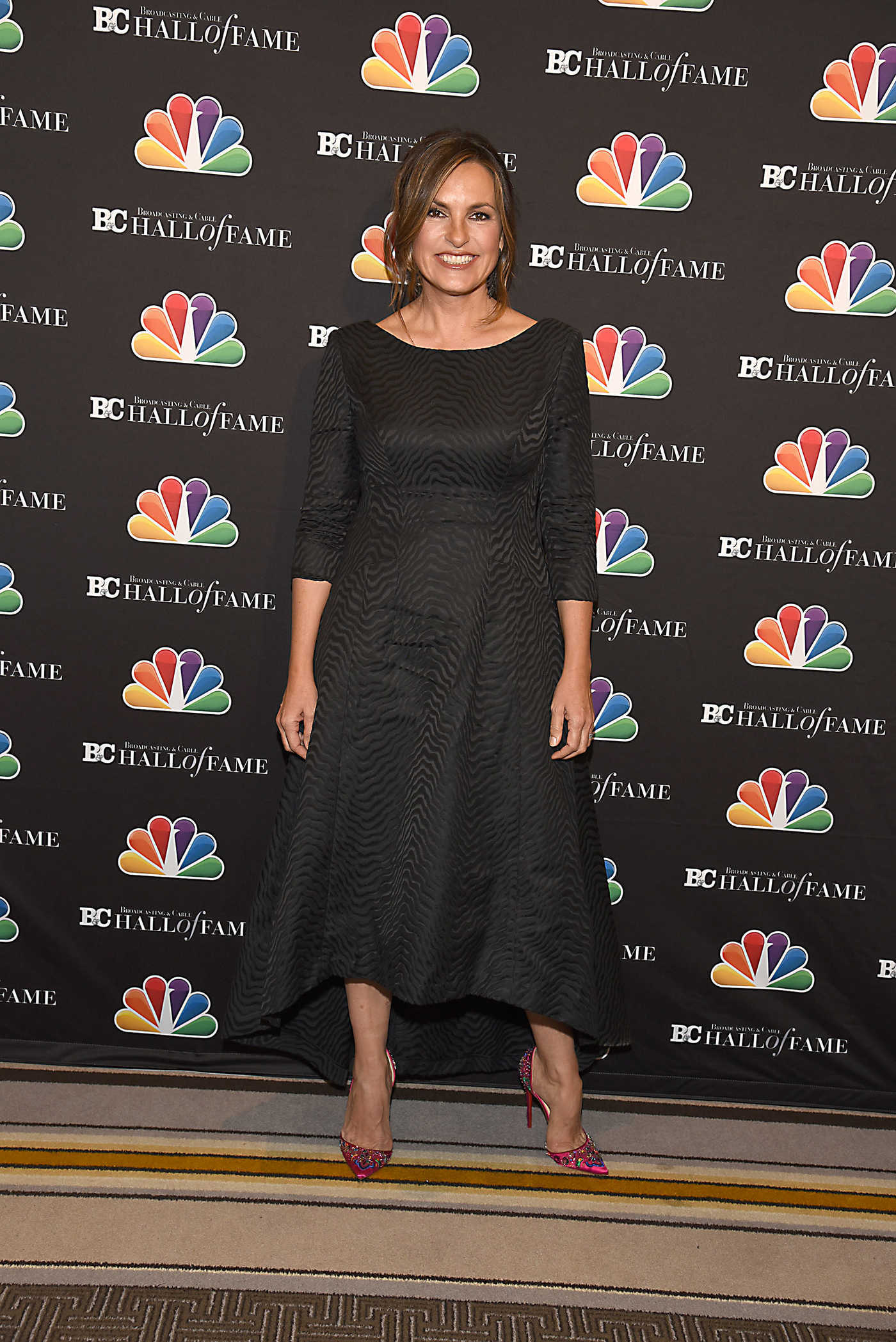 Mariska Hargitay at the Broadcasting and Cable Hall of Fame Awards 27th Anniversary Gala in NYC 10/16/2017