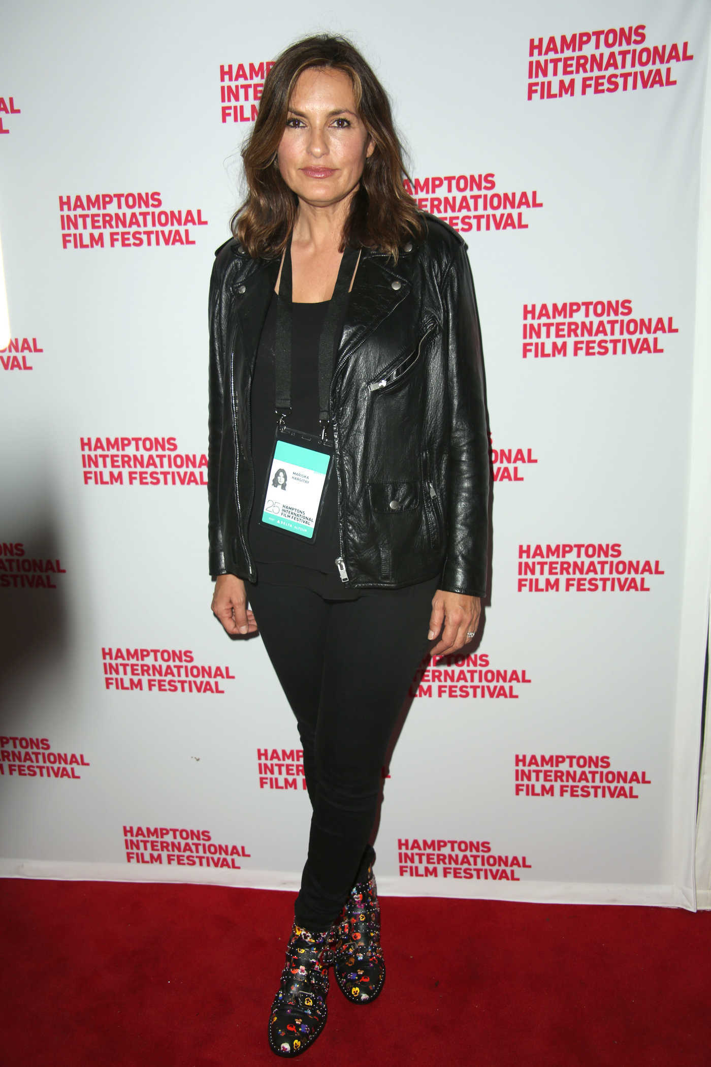 Mariska Hargitay at the Hamptons international film Festival in New York 10/08/2017