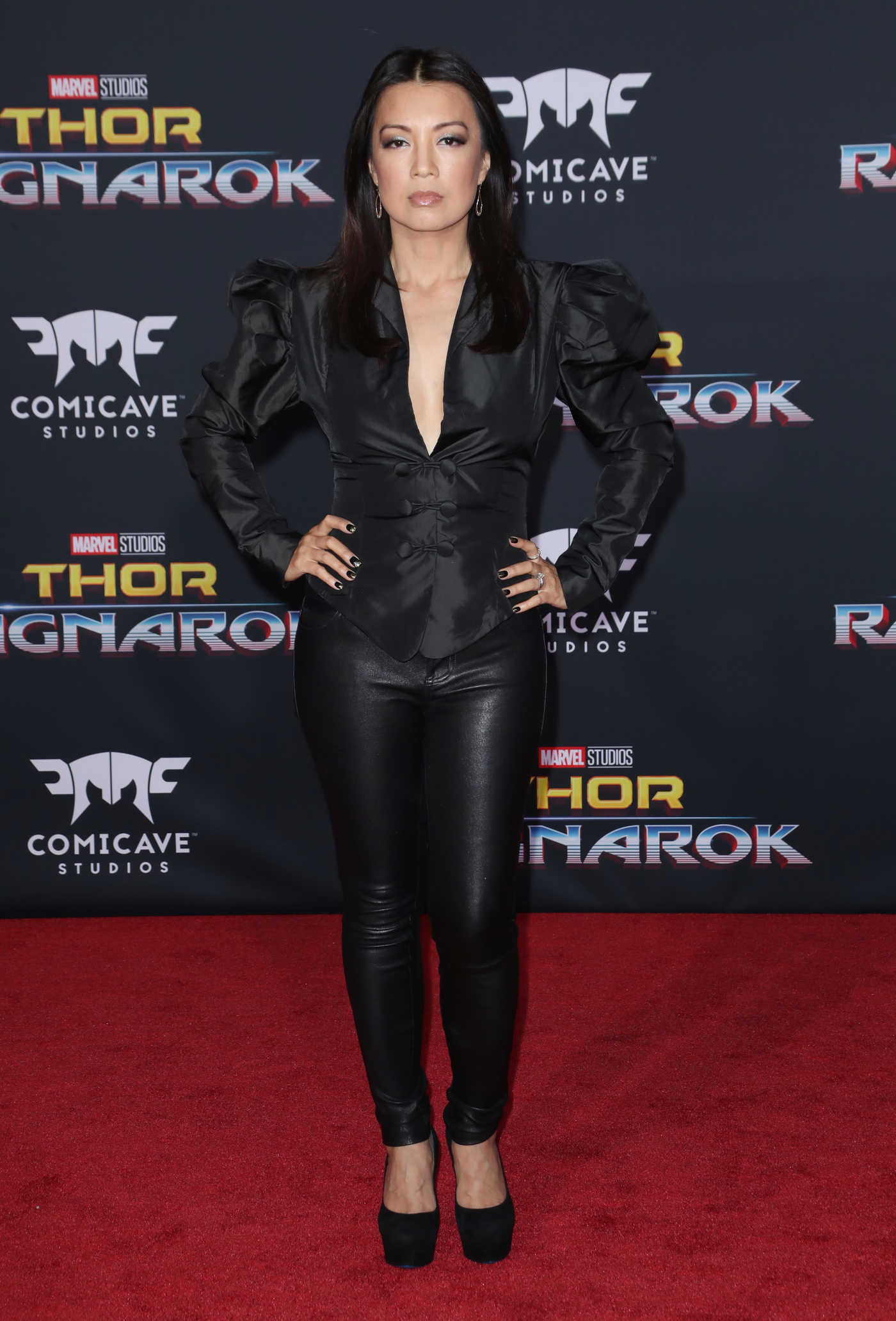 Ming-Na Wen at the Thor: Ragnarok Premiere in Los Angeles 10/10/2017
