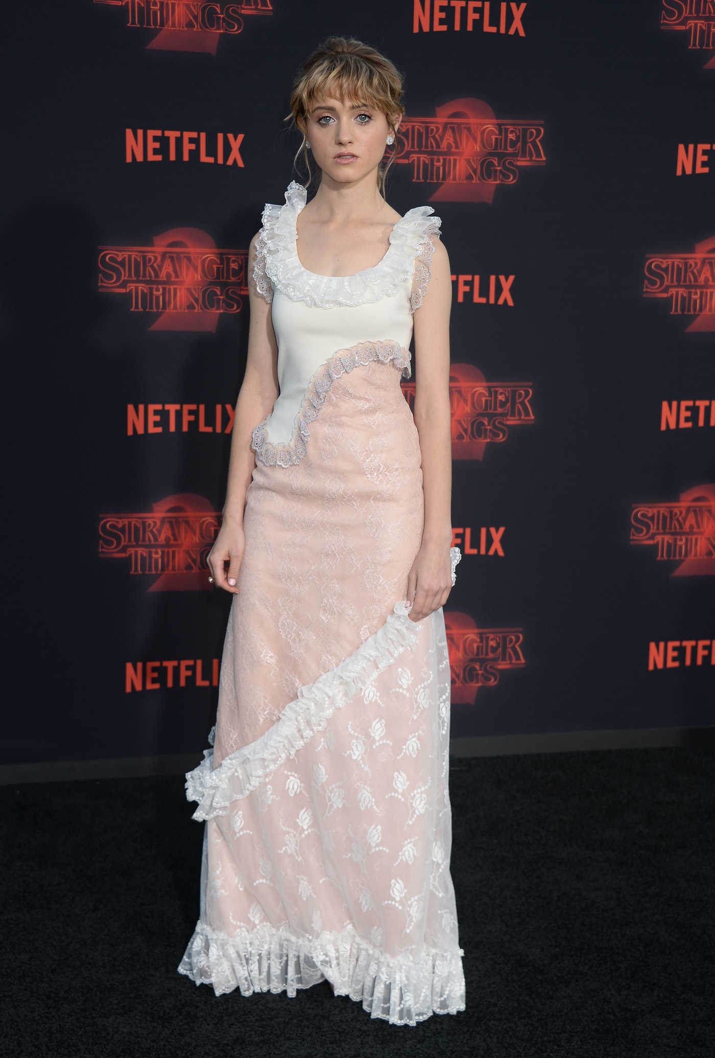 Natalia Dyer at the Stranger Things Season 2 Premiere in Los Angeles 10/26/2017