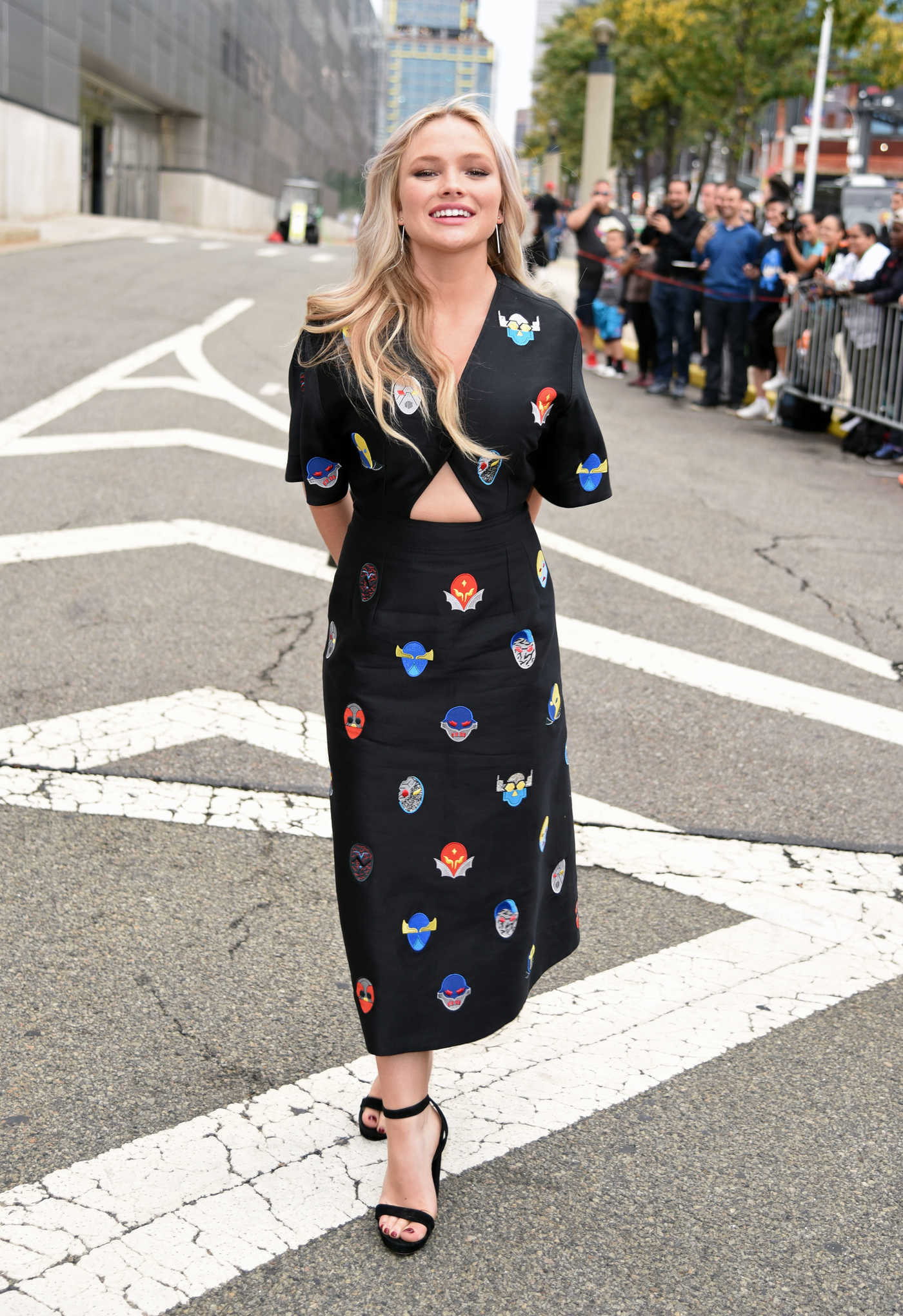 Natalie Alyn Lind Was Seen Out New York 10/08/2017