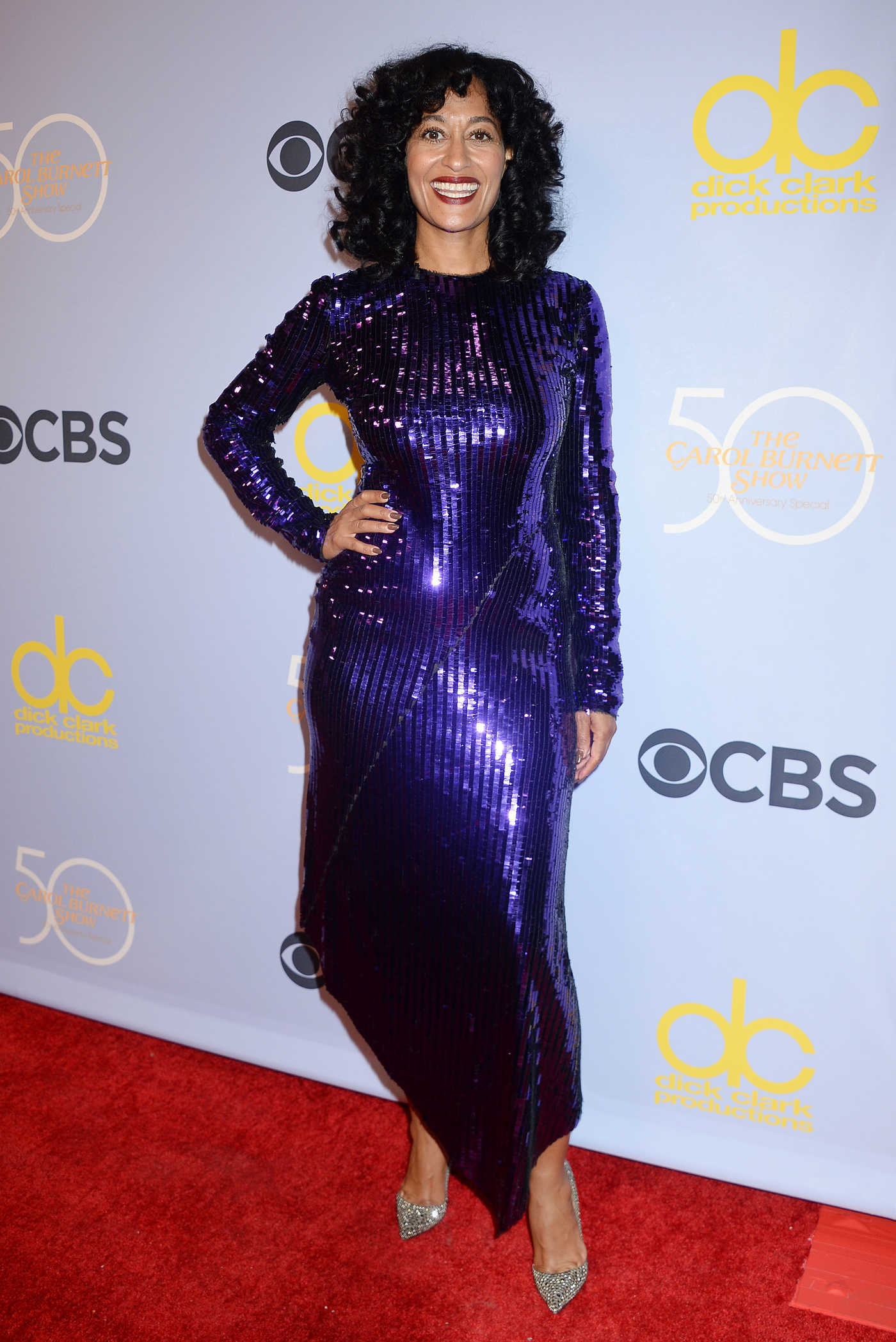 Tracee Ellis Ross at The Carol Burnett Show 50th Anniversary Special in Los Angeles 10/04/2017