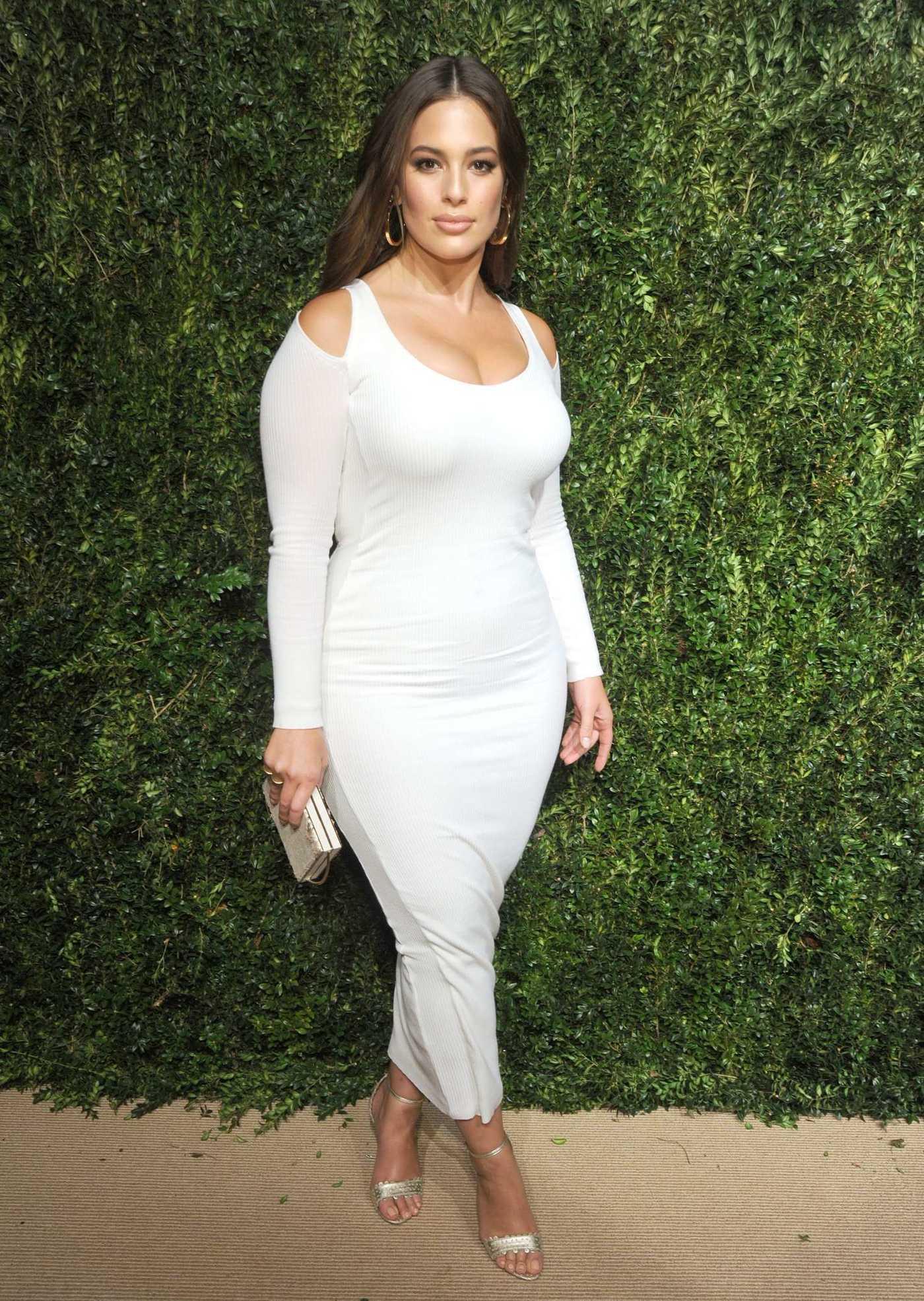 Ashley Graham at the 14th Annual CFDA Vogue Fashion Fund Awards NYC 11/06/2017