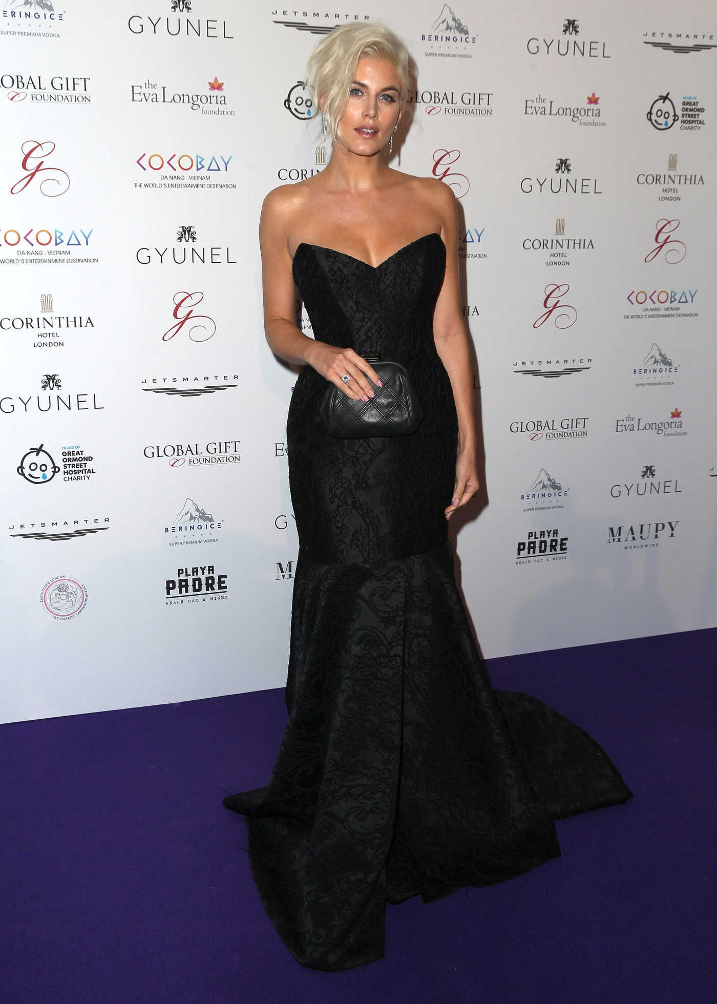Ashley James at the 8th Global Gift Gala in Aid of Great Ormond Street Hospital Children's Charity in London 11/18/2017