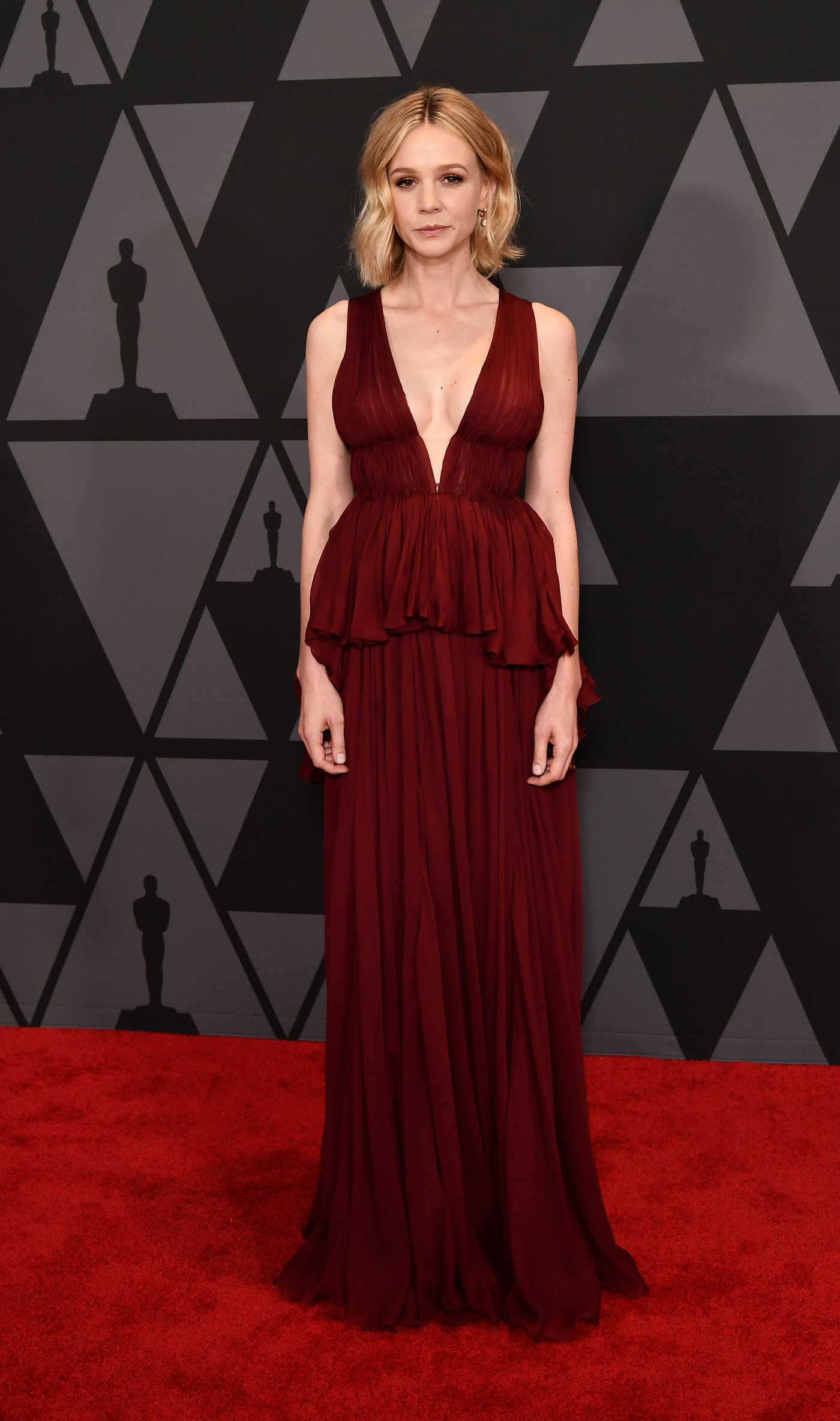 Carey Mulligan at Academy of Motion Picture Arts and Sciences 9th Annual Governors Awards in Hollywood 11/11/2017