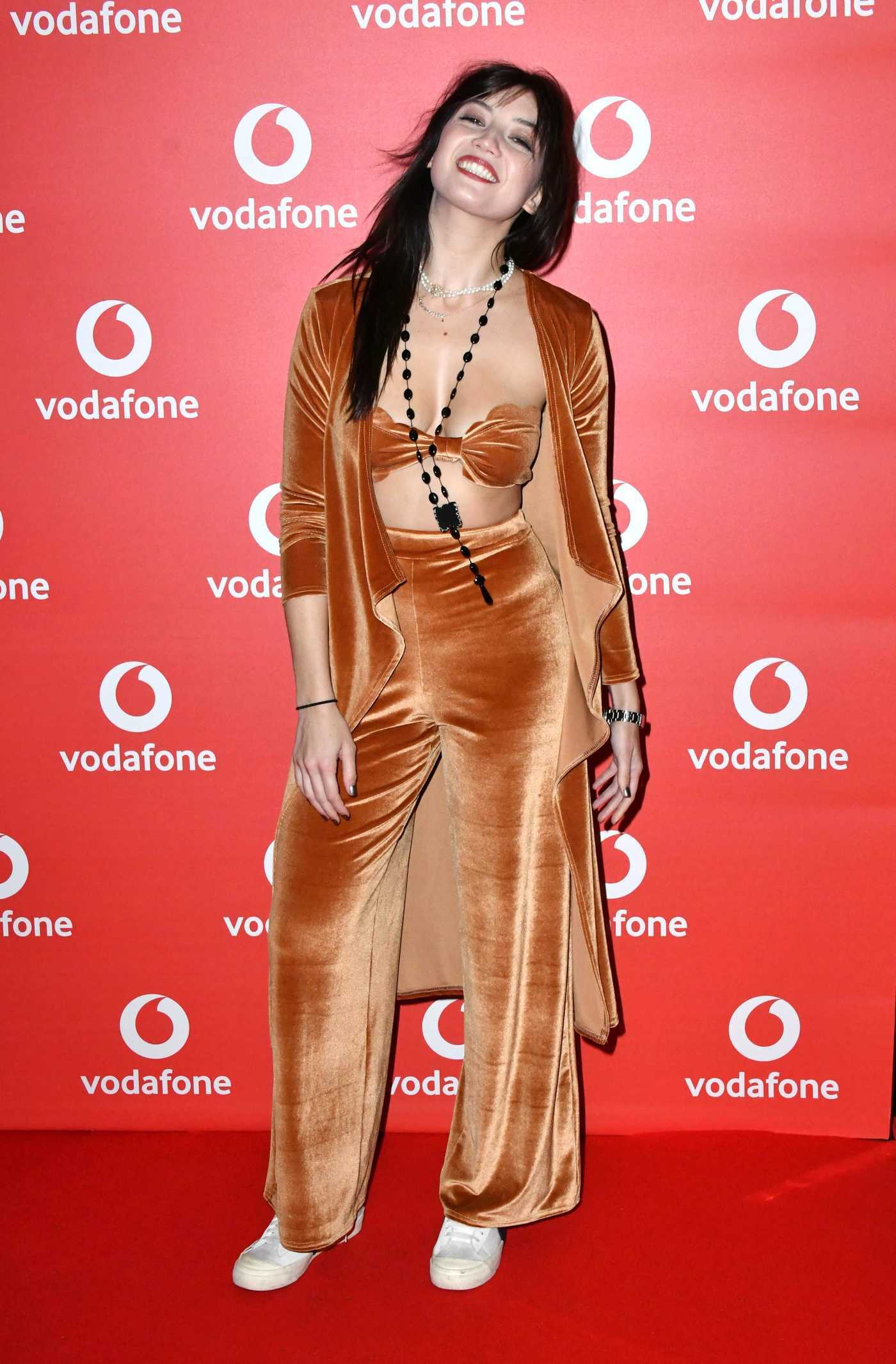 Daisy Lowe Attends the Vodafone Passes Launch in London 11/01/2017