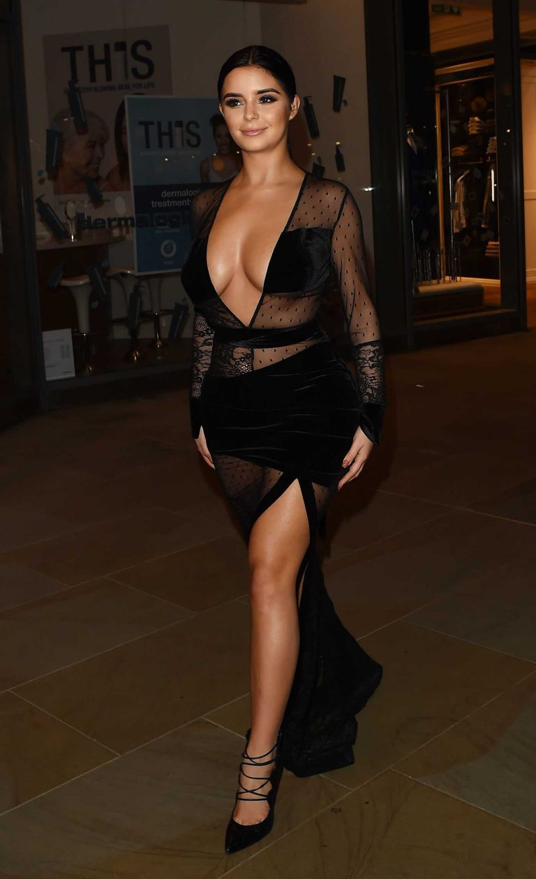 Demi Rose at the White Forest at Madison Launch Party in London 11/09/2017-1