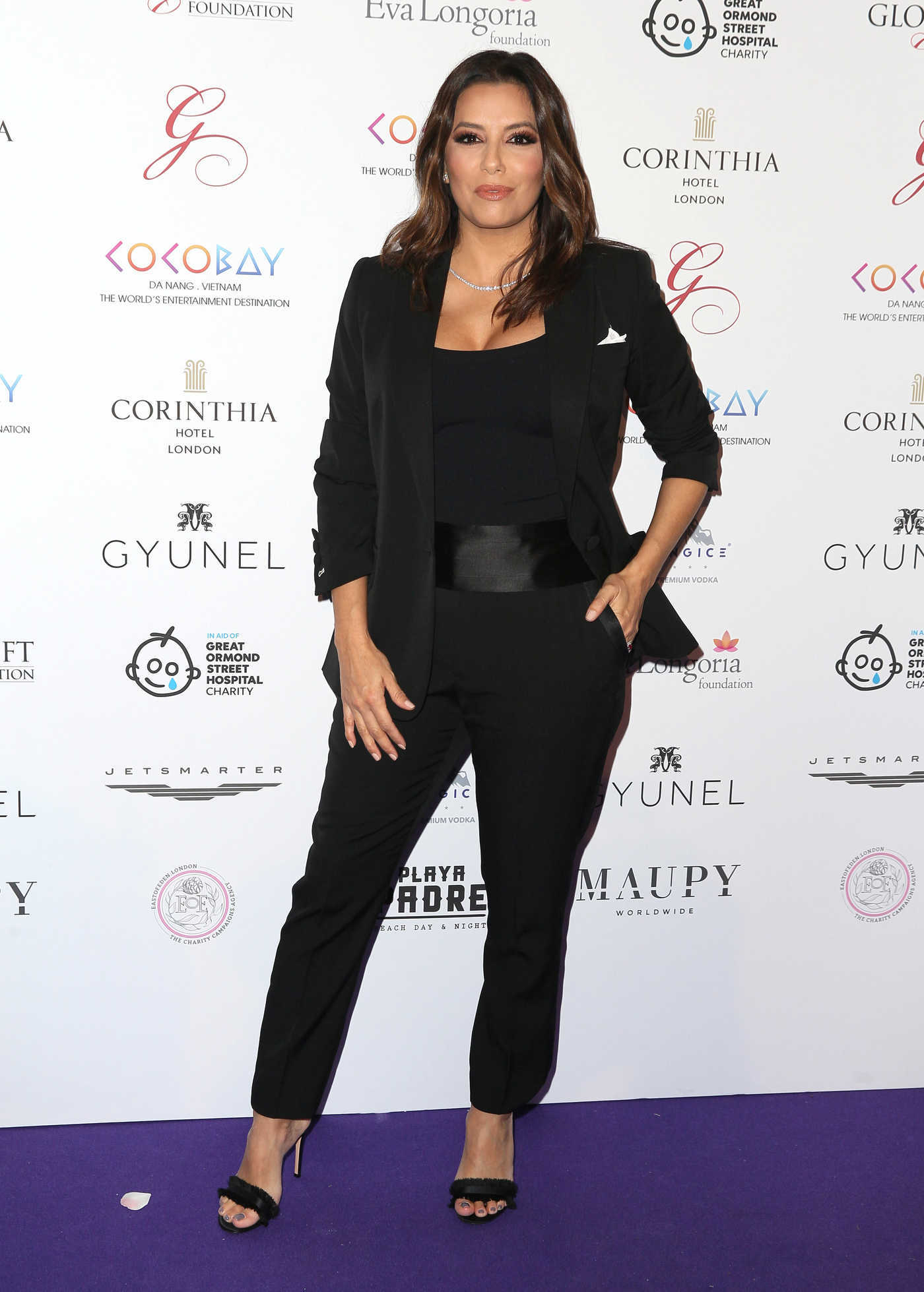 Eva Longoria at the 8th Global Gift Gala in Aid of Great Ormond Street Hospital Children's Charity in London 11/18/2017