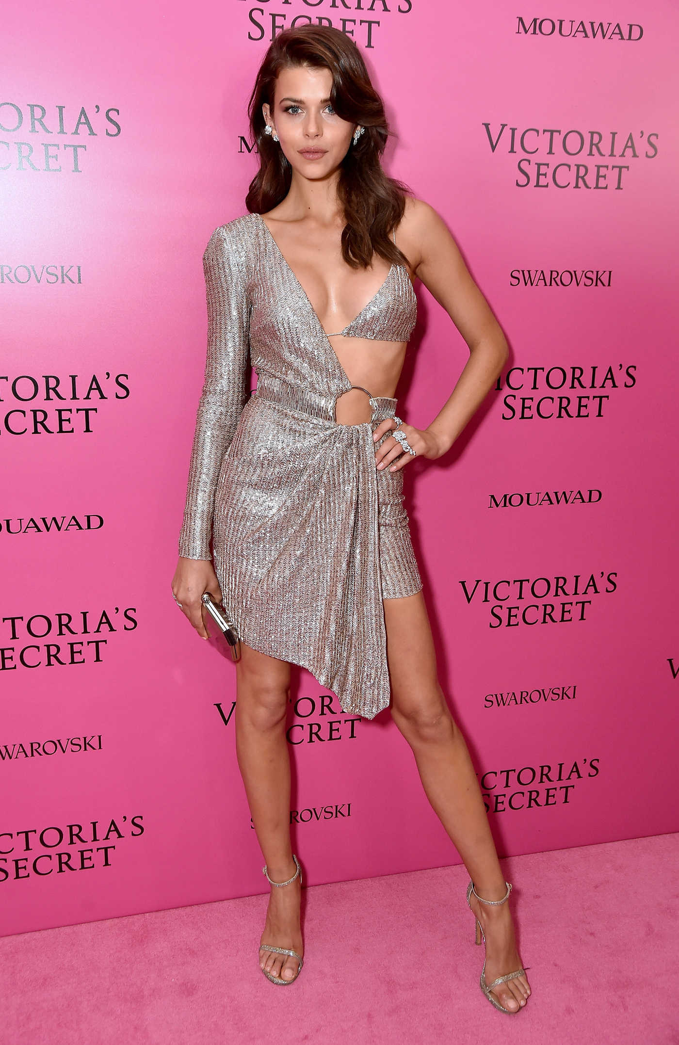 Georgia Fowler at 2017 Victoria's Secret Fashion Show After Party in Shanghai 11/20/2017