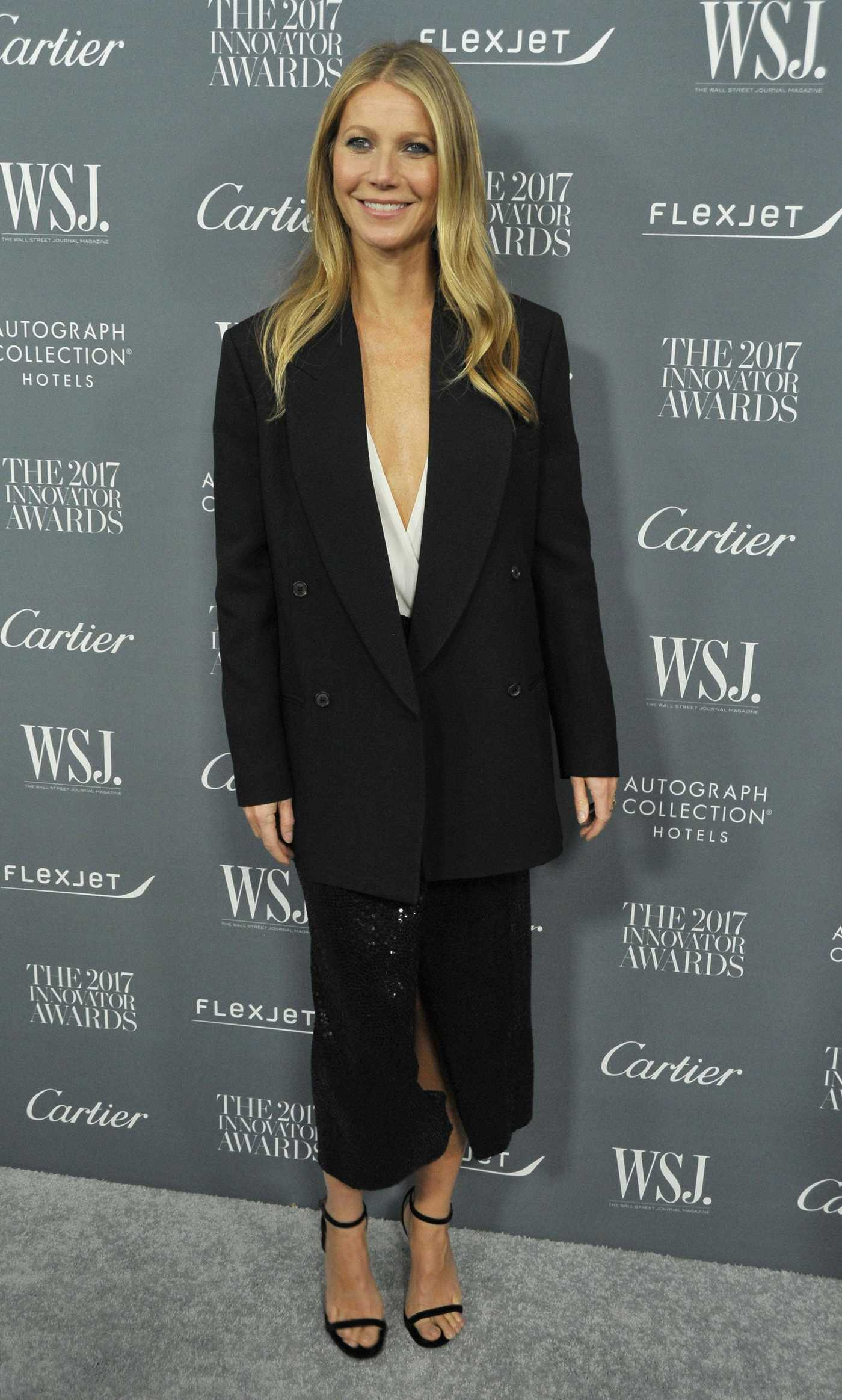 Gwyneth Paltrow at the WSJ Innovator Awards in NYC 11/01/2017