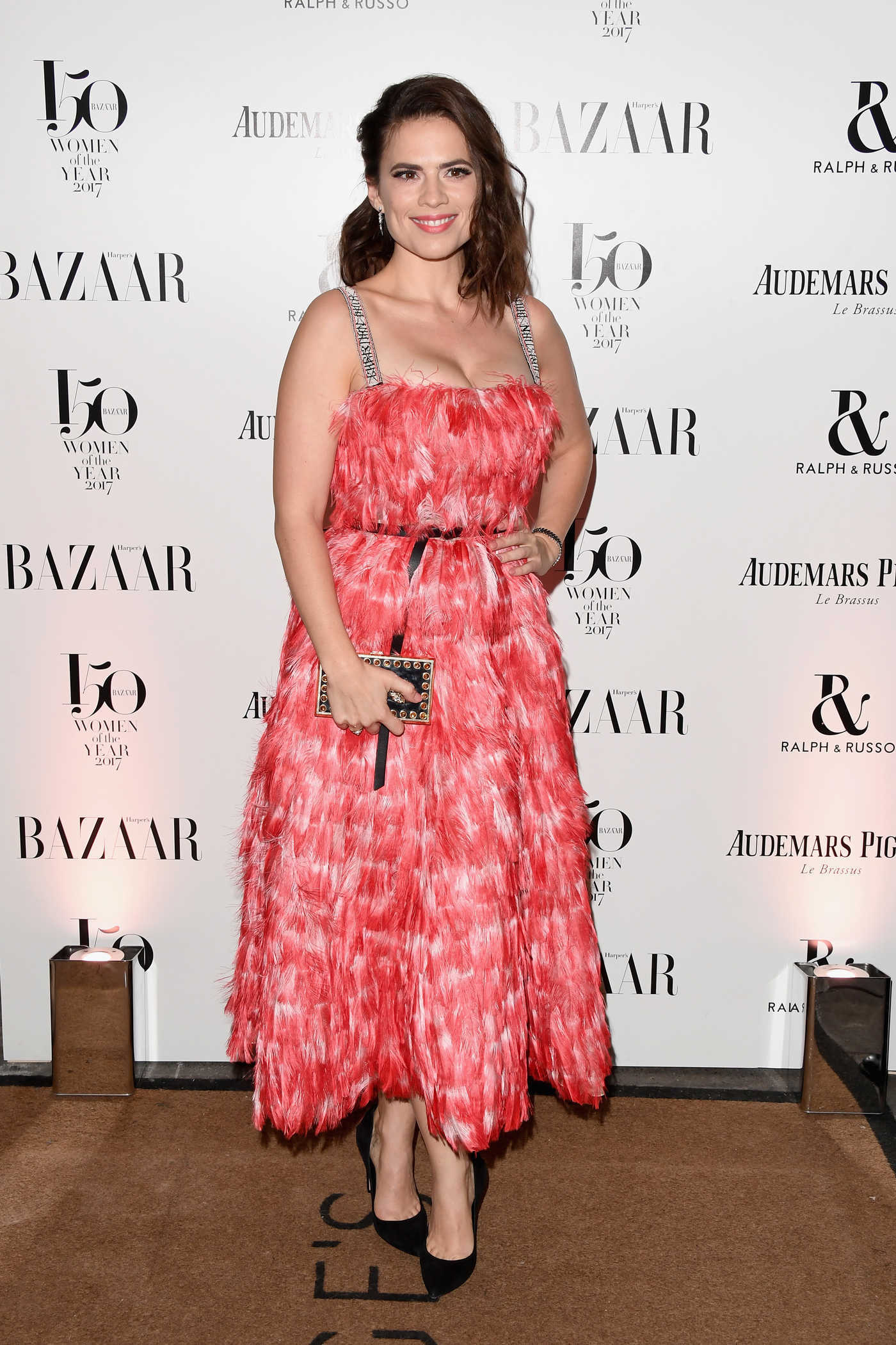Hayley Atwell at the Harper's Bazaar Women of the Year Awards in London 11/02/2017